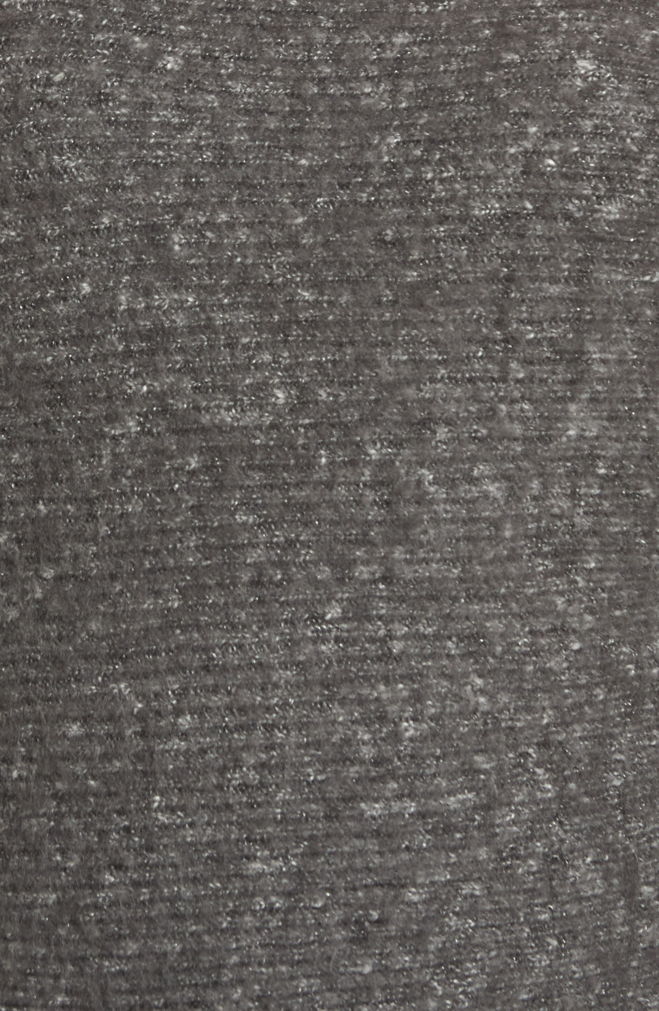 Alternate Image 5  - Treasure & Bond One-Shoulder Ribbed Sweater