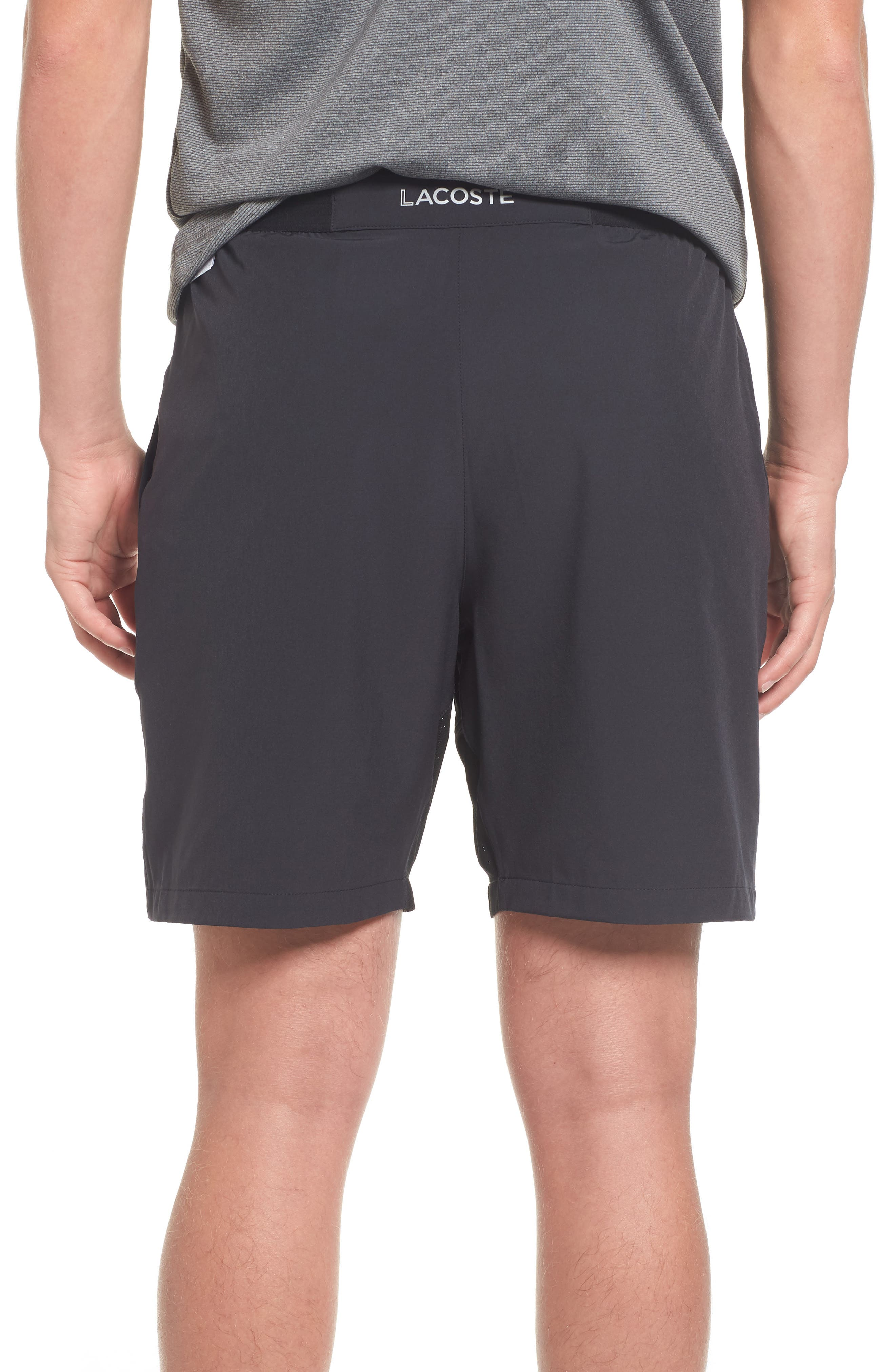 Stretch Sport Shorts,                             Alternate thumbnail 2, color,                             Black