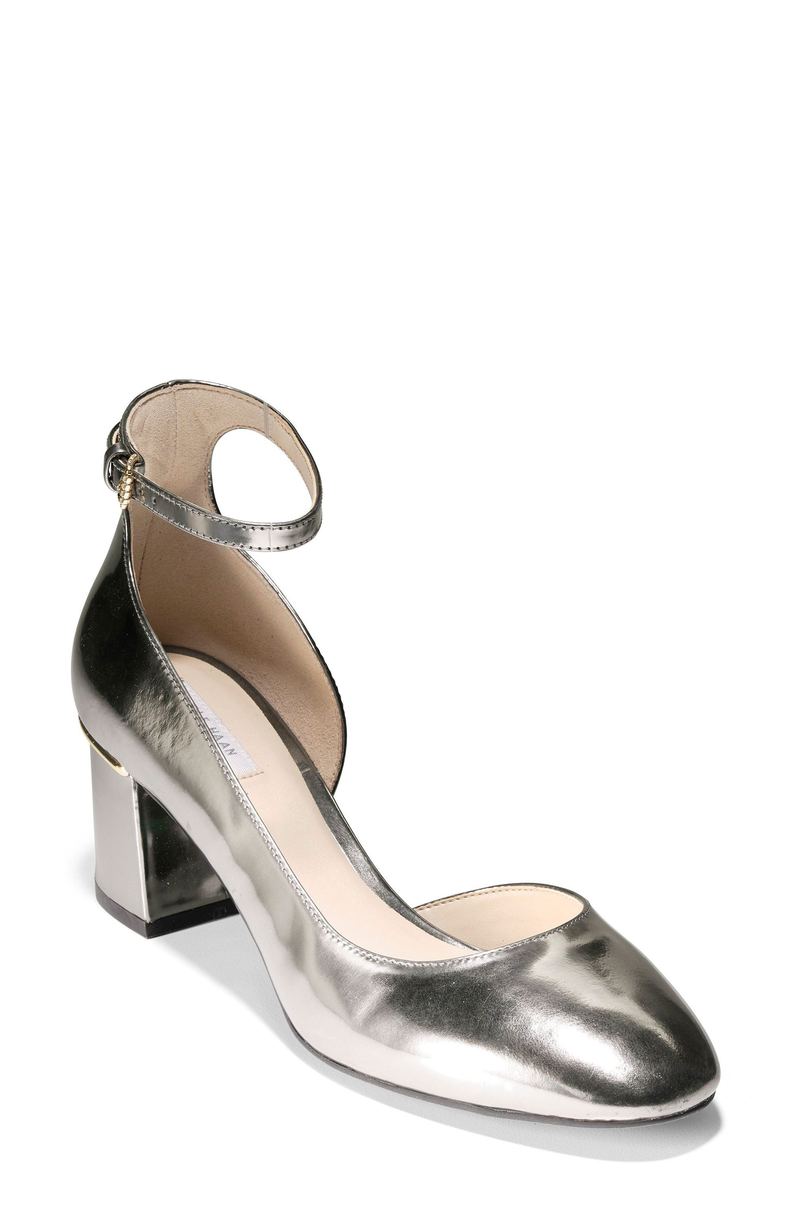 Main Image - Cole Haan Warner Ankle Strap Pump (Women)