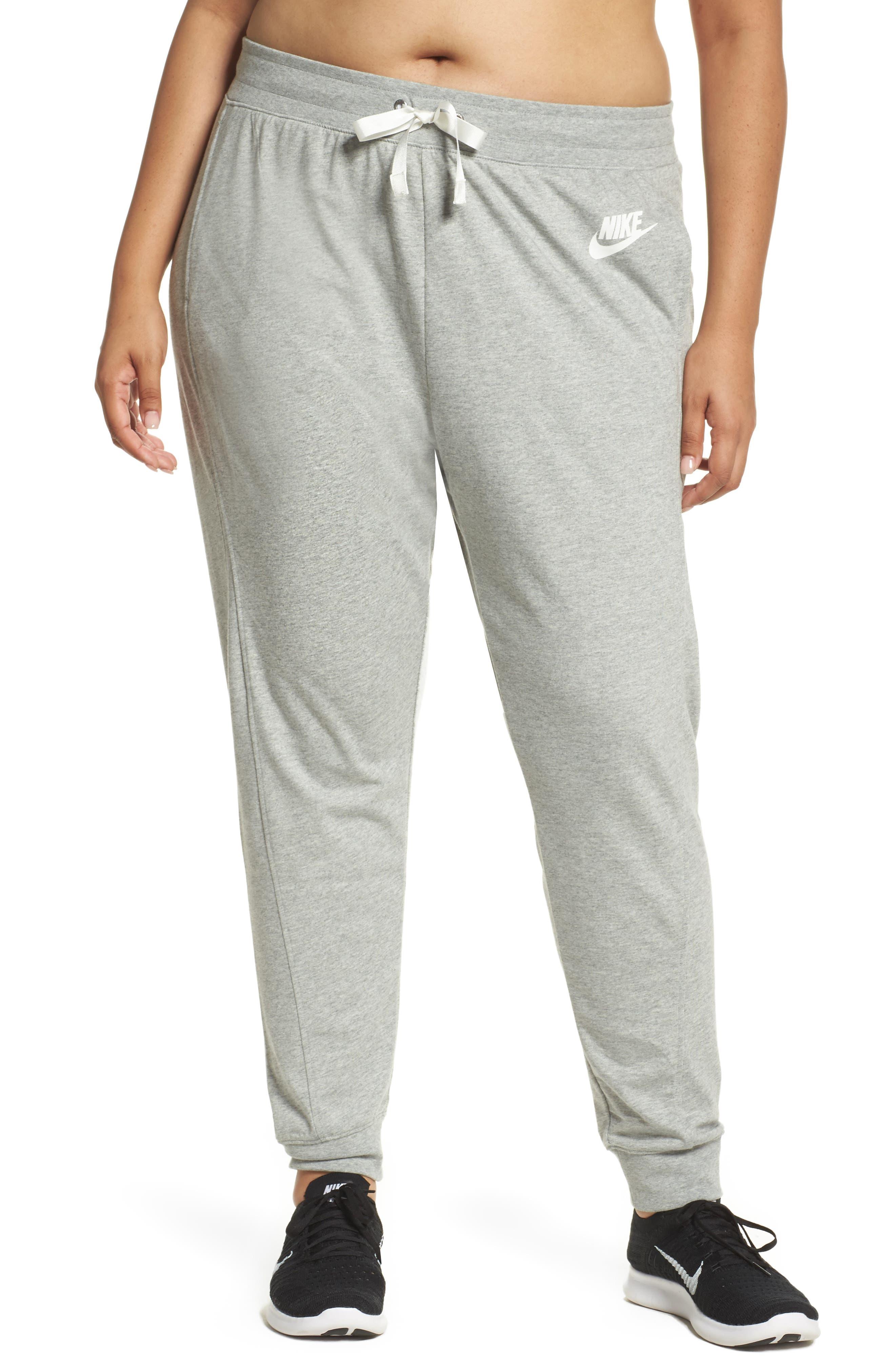 Sportswear Gym Classic Pants,                         Main,                         color, Dk Grey Heather/ Sail
