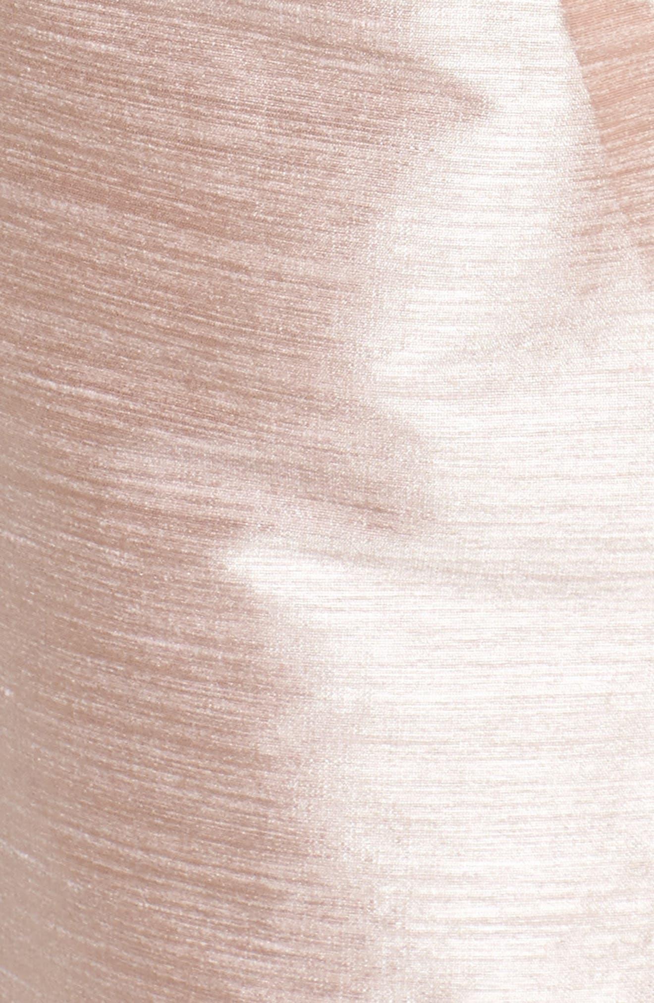 Boatneck Sheath Dress,                             Alternate thumbnail 5, color,                             Pearl Pink
