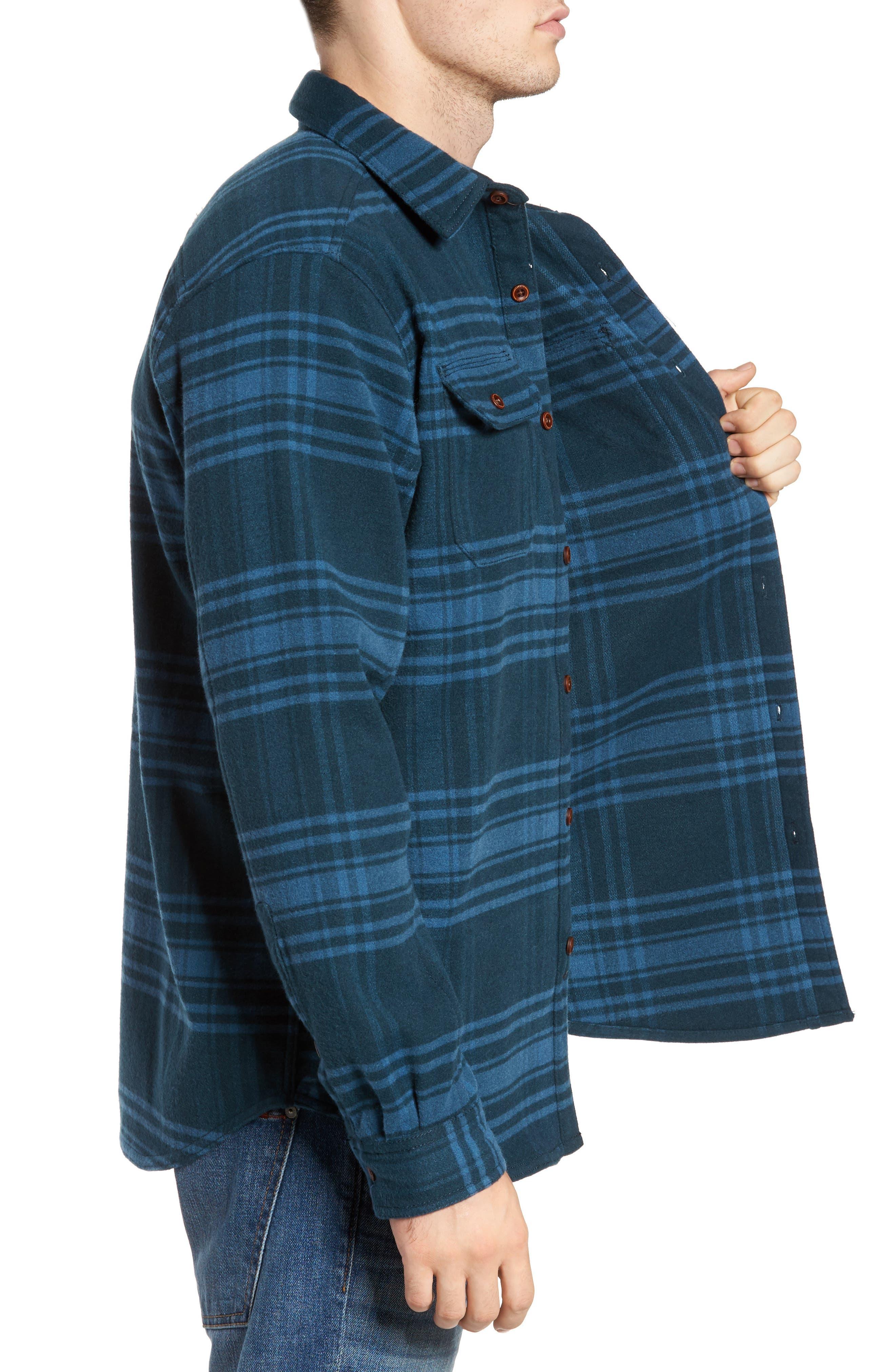 Alternate Image 3  - Columbia Deschutes River™ Heavyweight Flannel Shirt Jacket