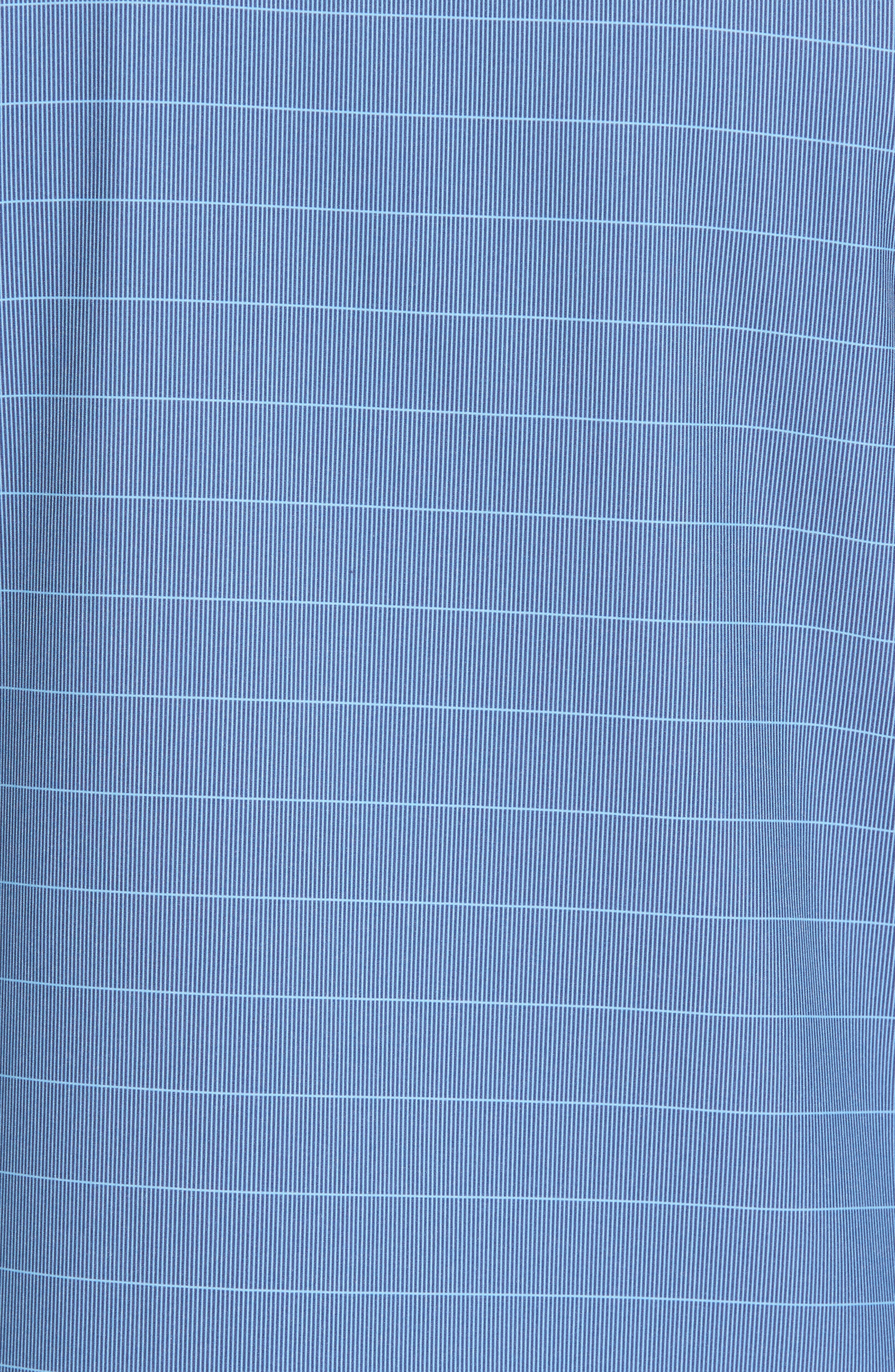 Dubes Quarter Zip Pullover Jacket,                             Alternate thumbnail 5, color,                             Blue Indigo
