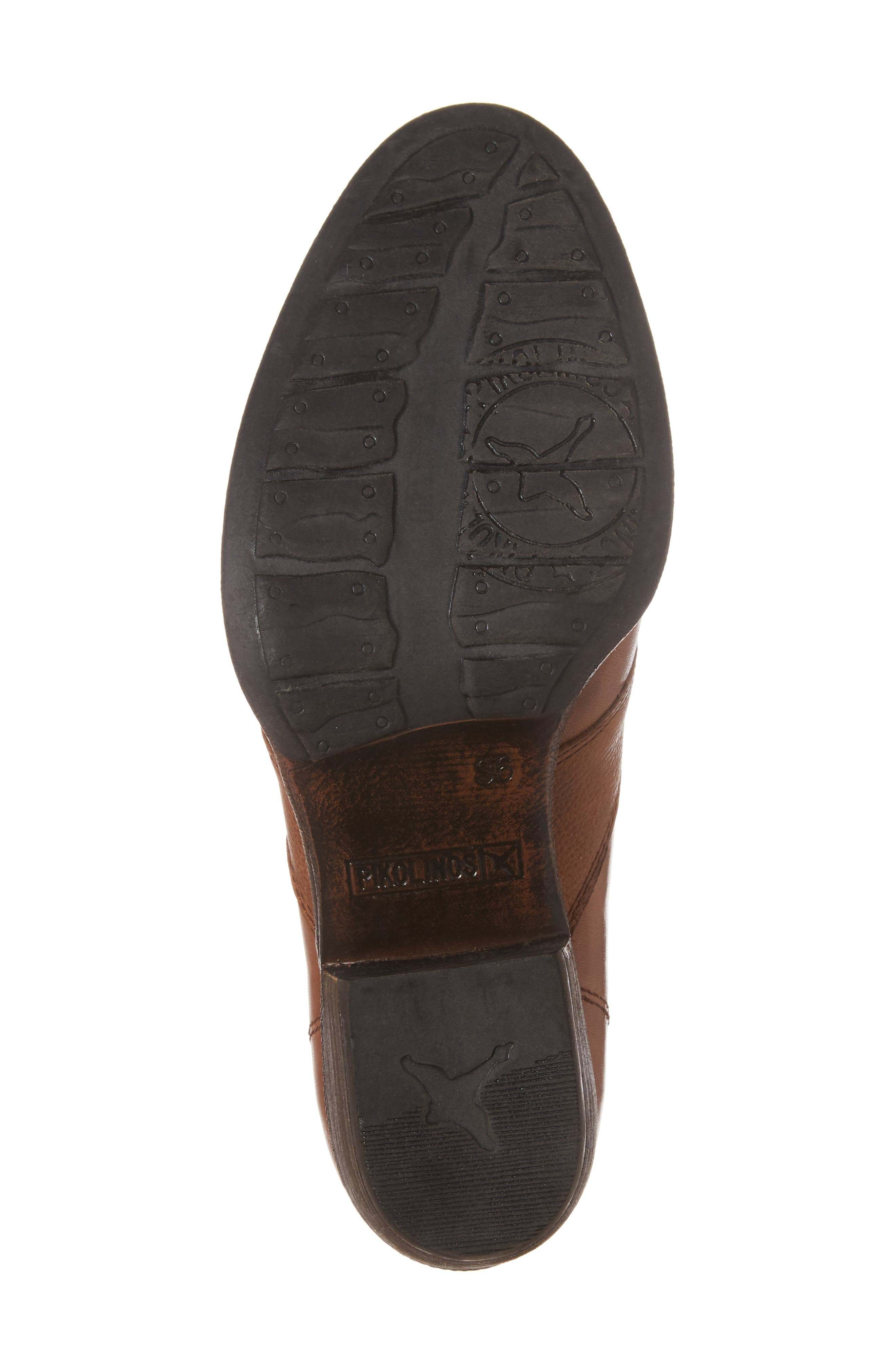 Baqueira Oxford Pump,                             Alternate thumbnail 6, color,                             Cuero Brandy Leather