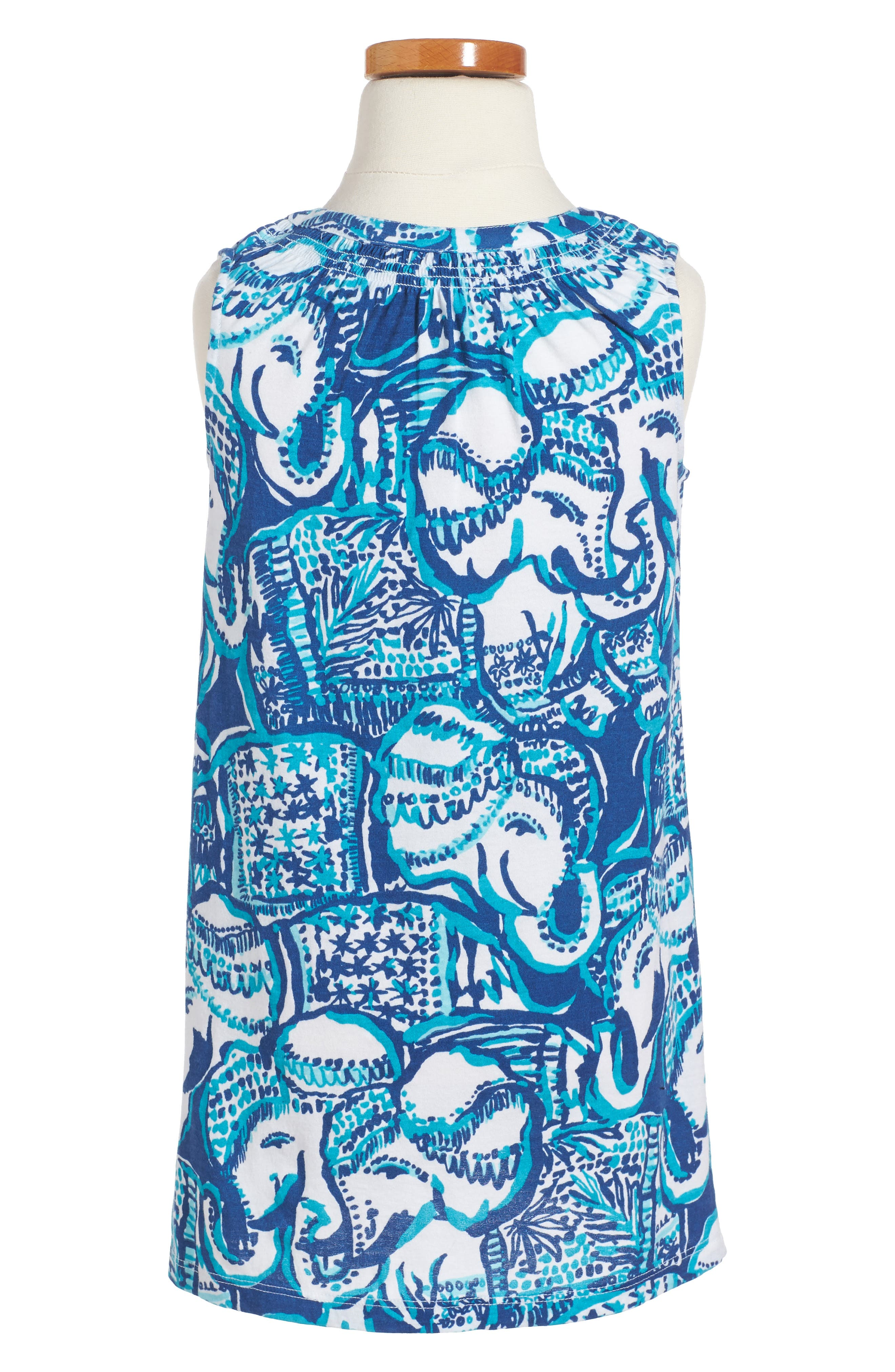 Alternate Image 2  - Lilly Pulitzer® Mini Essie Shift Dress (Toddler Girls, Little Girls & Big Girls)