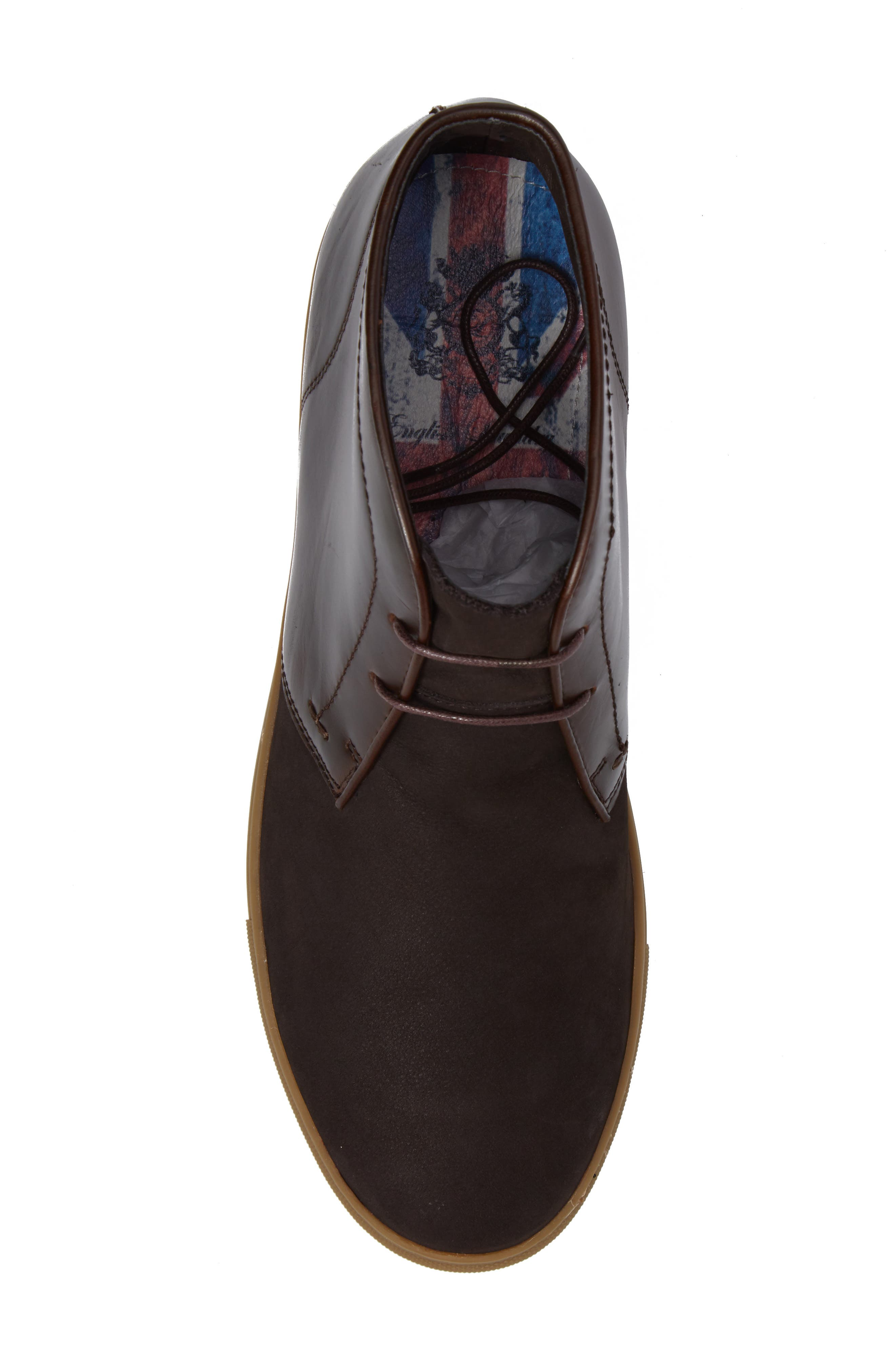Laxey Mid Sneaker,                             Alternate thumbnail 5, color,                             Brown