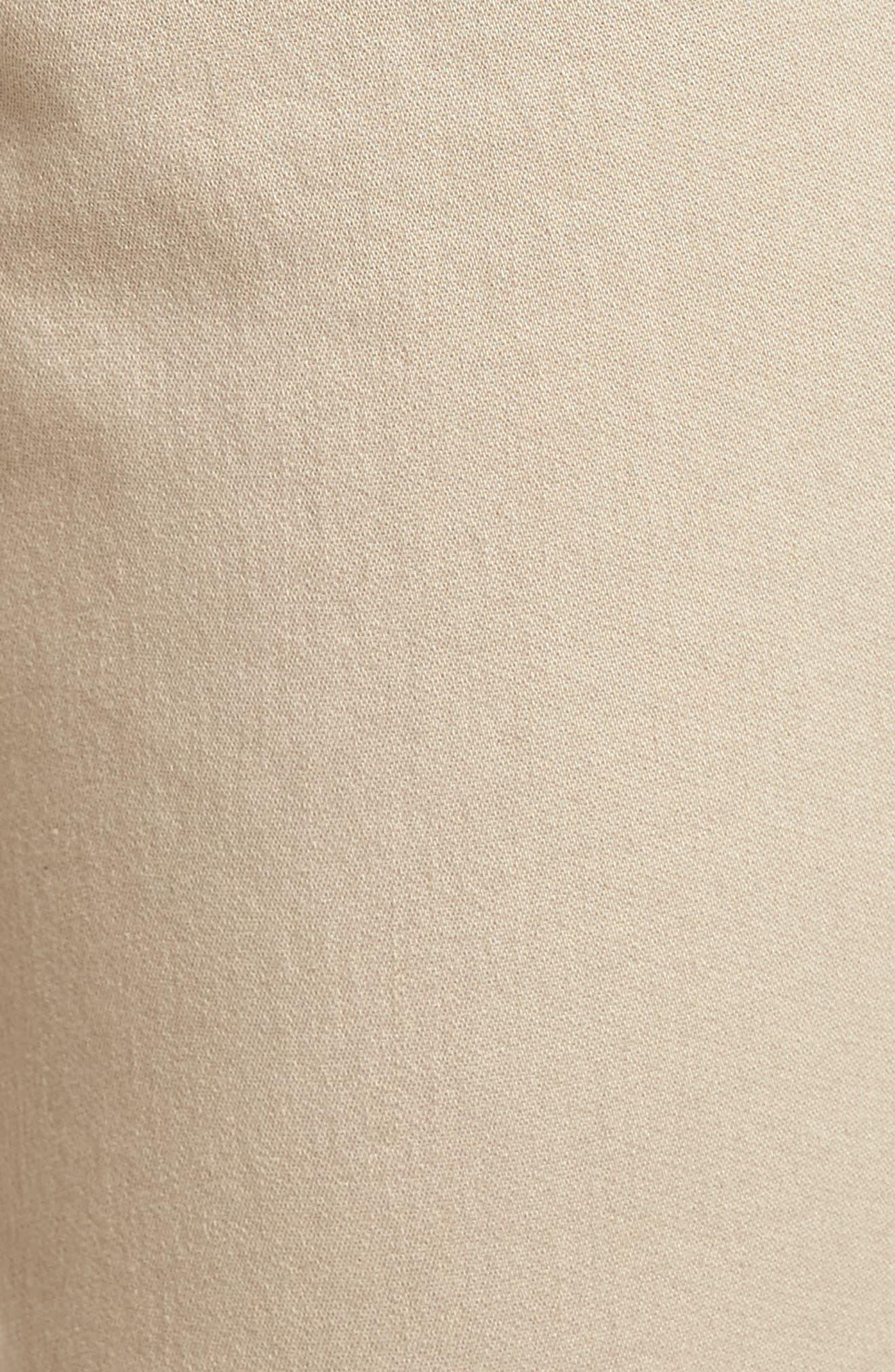 Ryan Knit Skinny Jeans,                             Alternate thumbnail 5, color,                             Birchwood