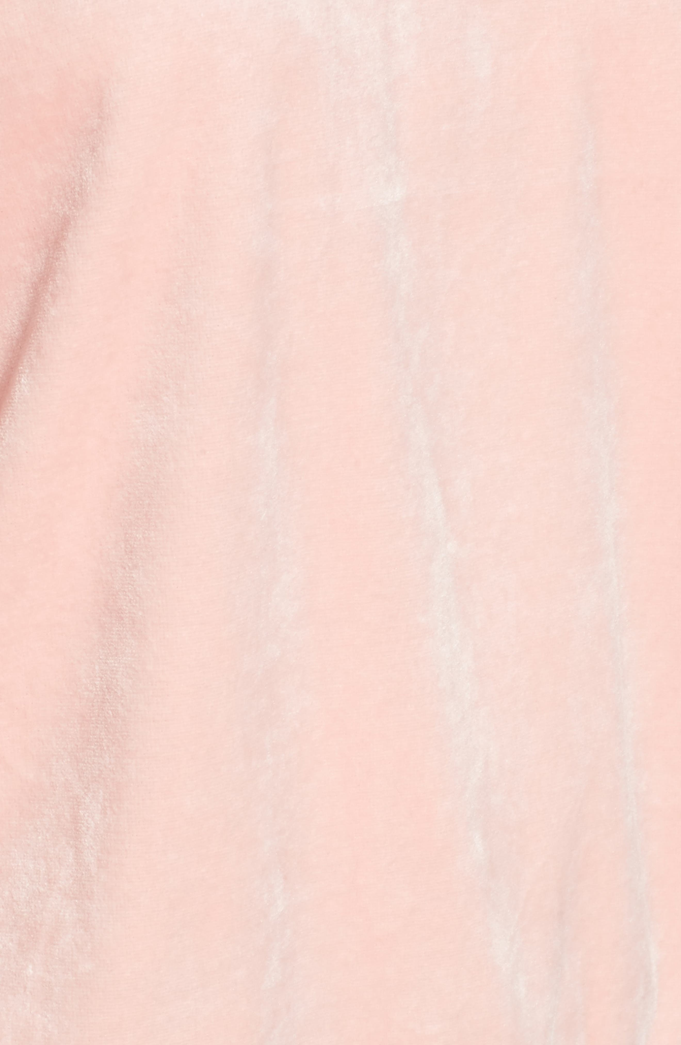 Velour Pullover,                             Alternate thumbnail 5, color,                             Sugared Icing