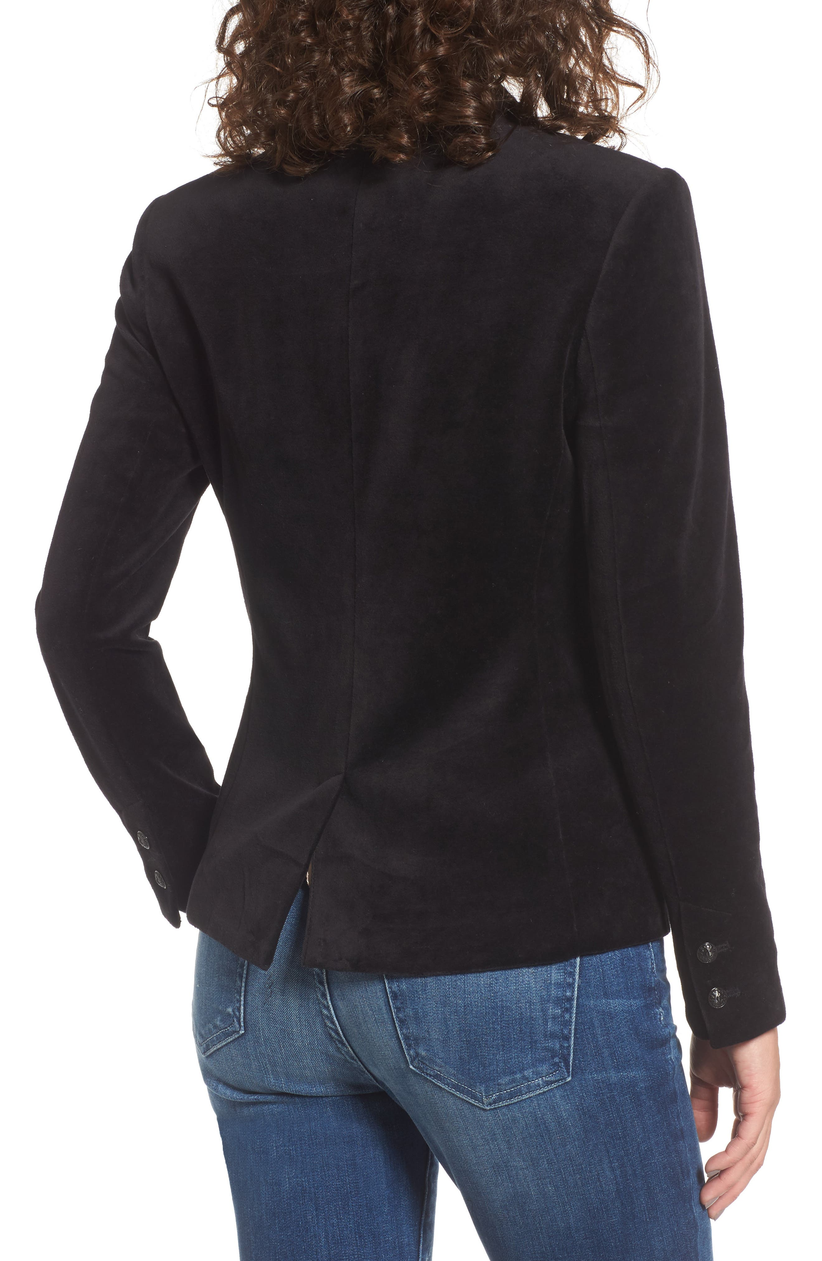 Alternate Image 2  - Juicy Couture Track Velour Blazer