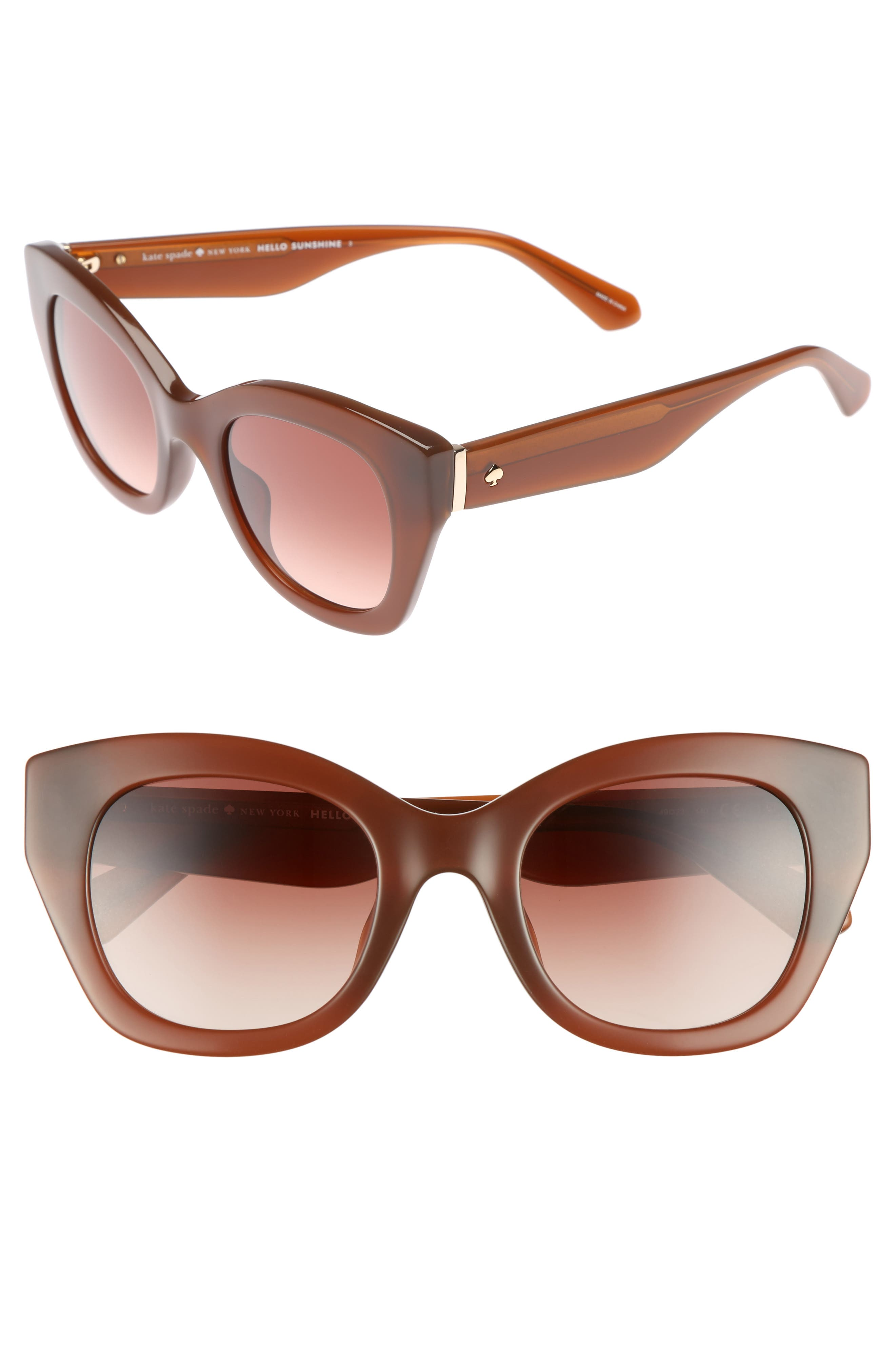 kate spade new york jalena 49mm gradient sunglasses