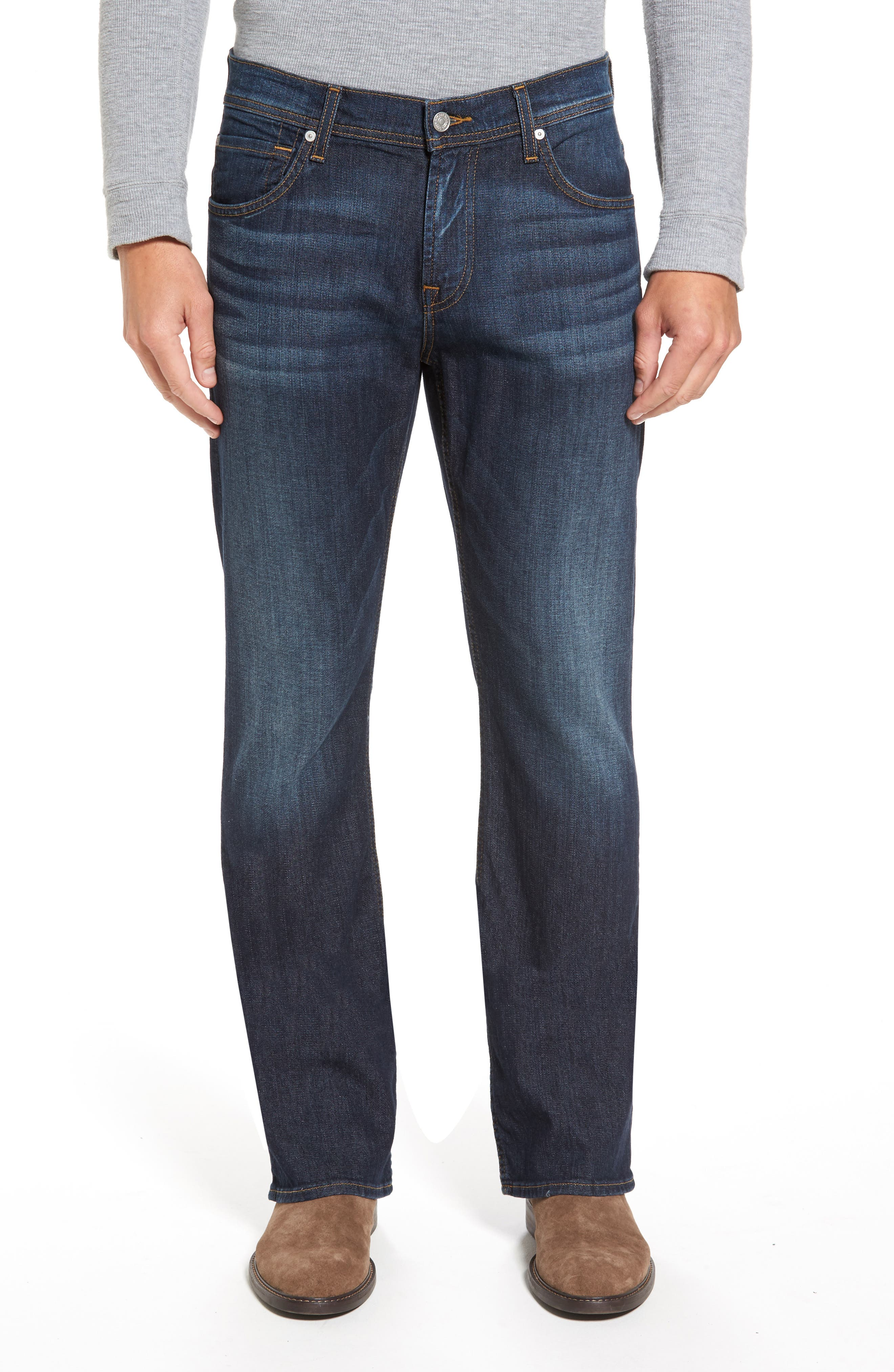 Main Image - 7 For All Mankind® Brett Bootcut Jeans (Foster)
