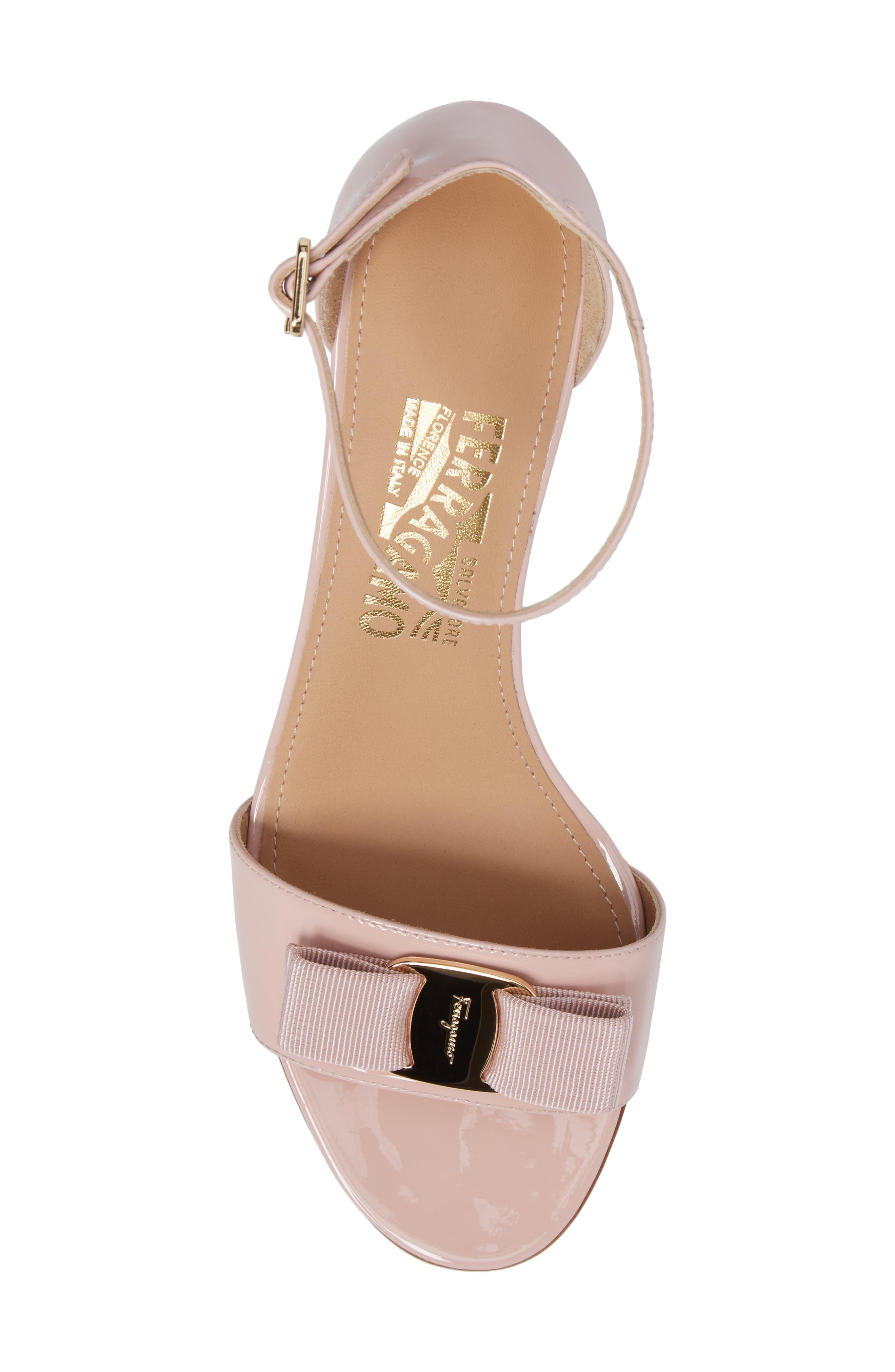 Gavina Ankle Strap Sandal,                             Alternate thumbnail 5, color,                             Bon Bon Pink