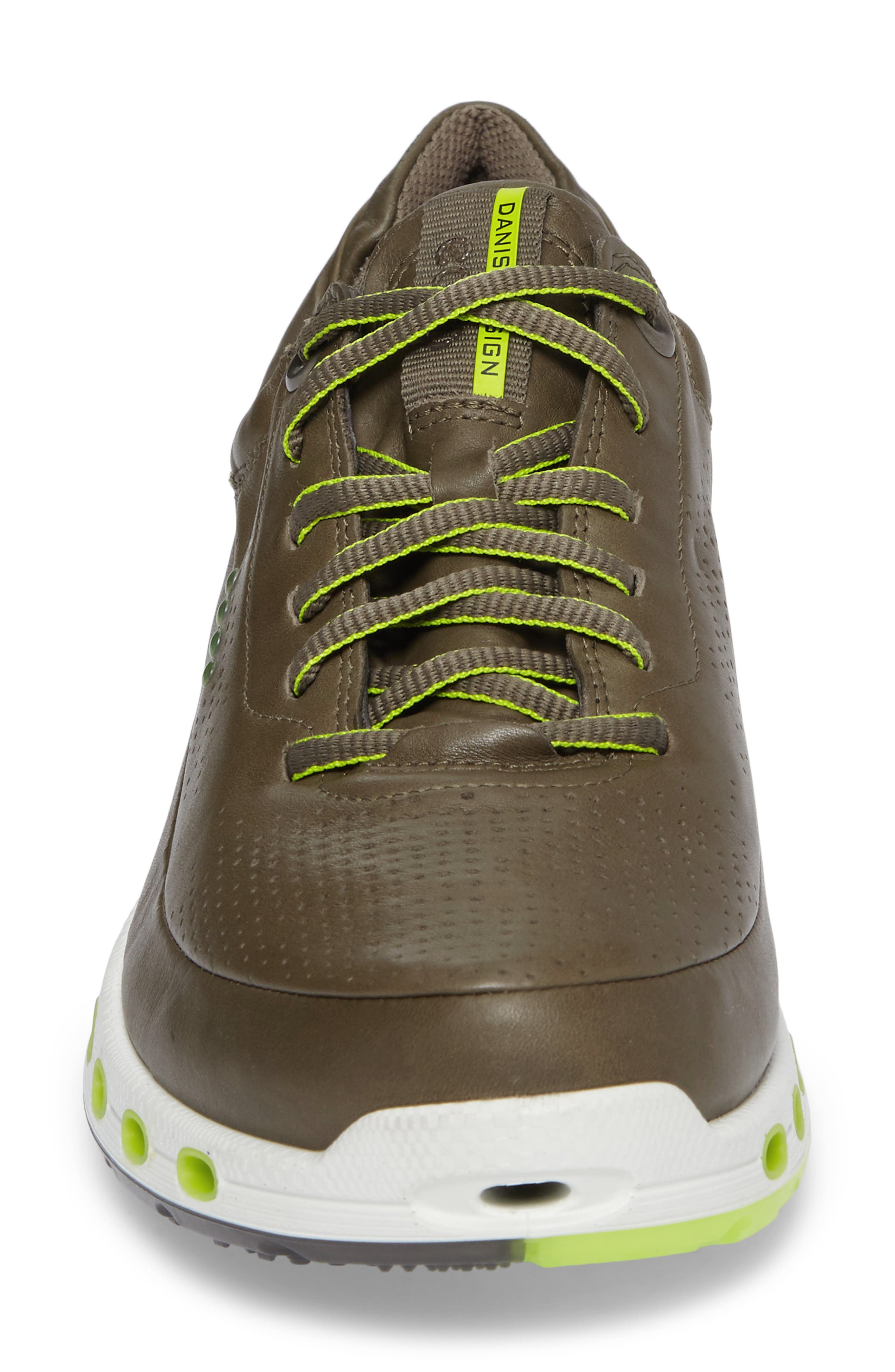 Cool 2.0 Leather GTX Sneaker,                             Alternate thumbnail 4, color,                             Tarmac Leather