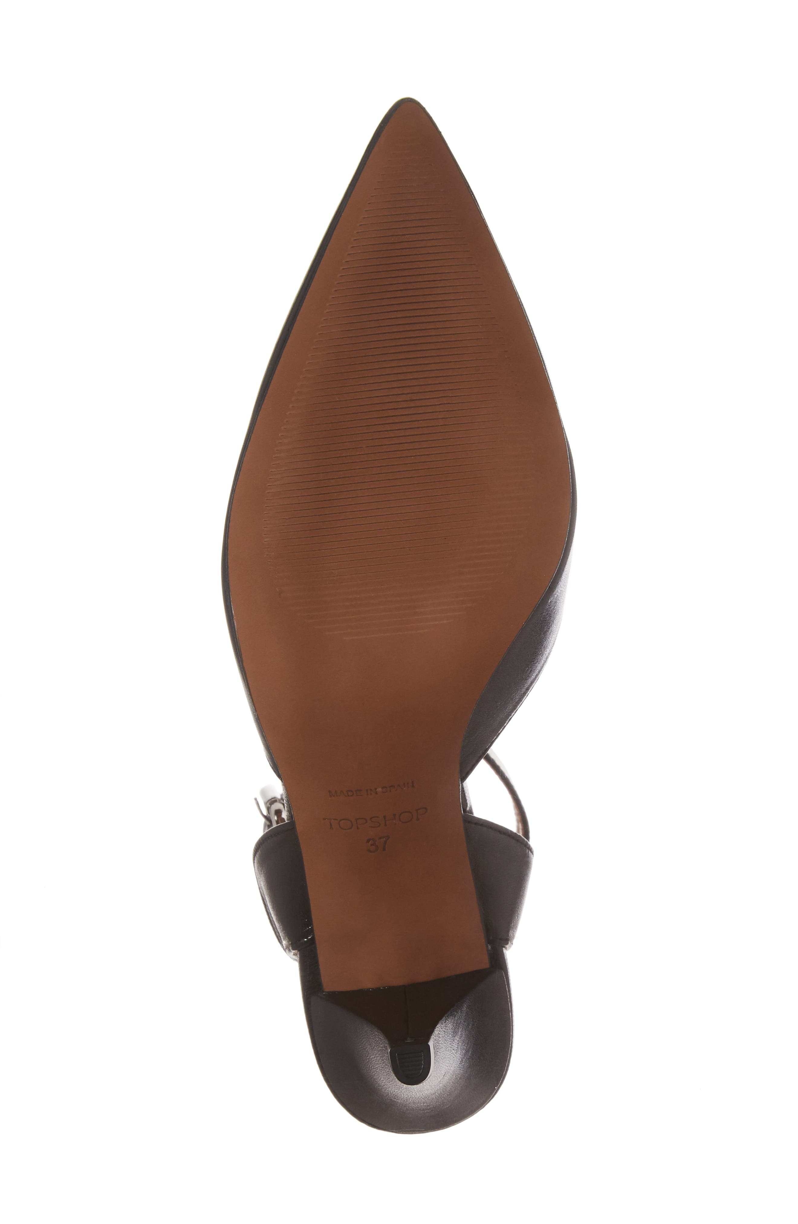 Alternate Image 6  - Topshop Jessa Ankle Strap Pump (Women)