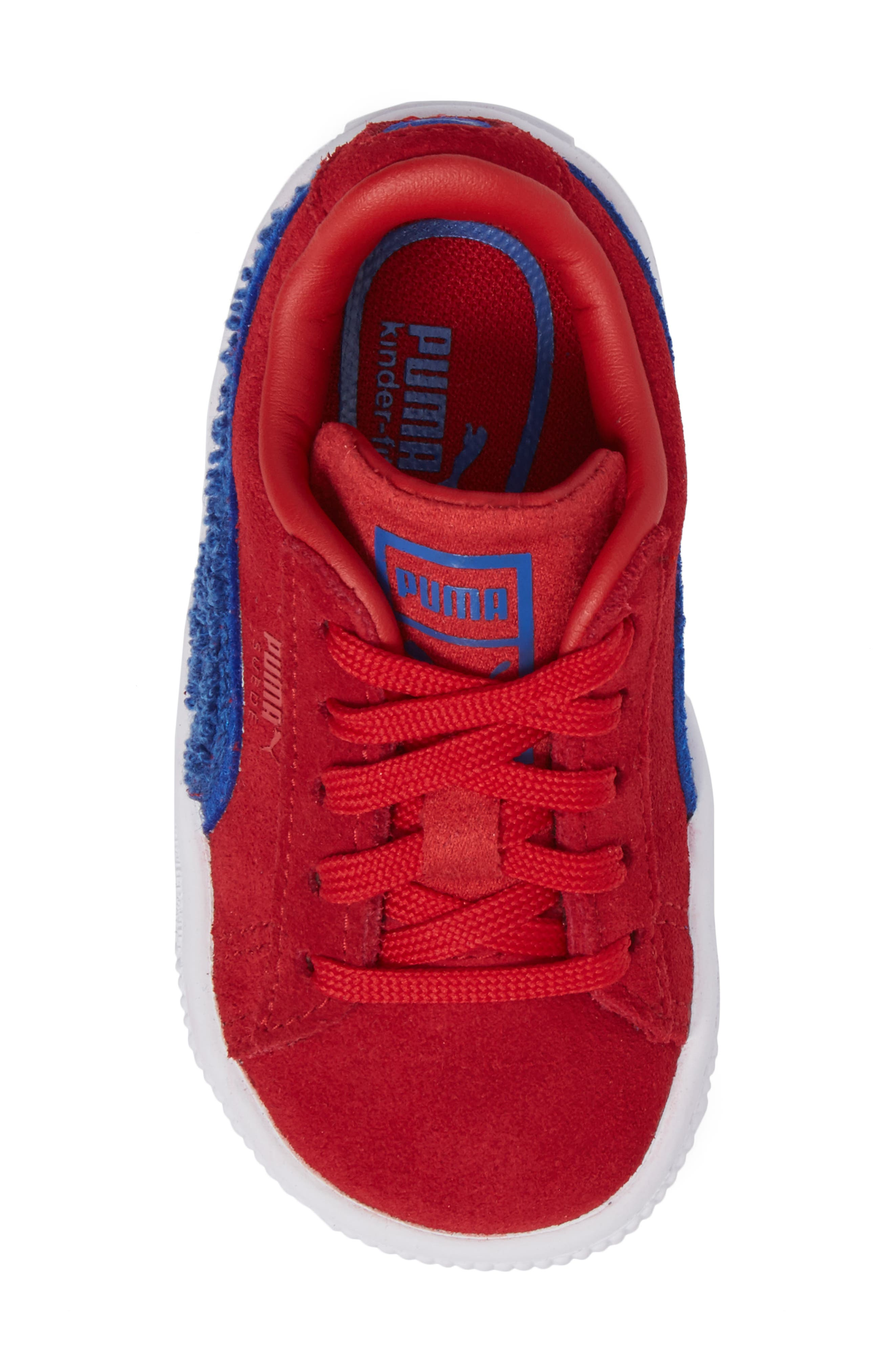 Classic Terry Sneaker,                             Alternate thumbnail 5, color,                             Red