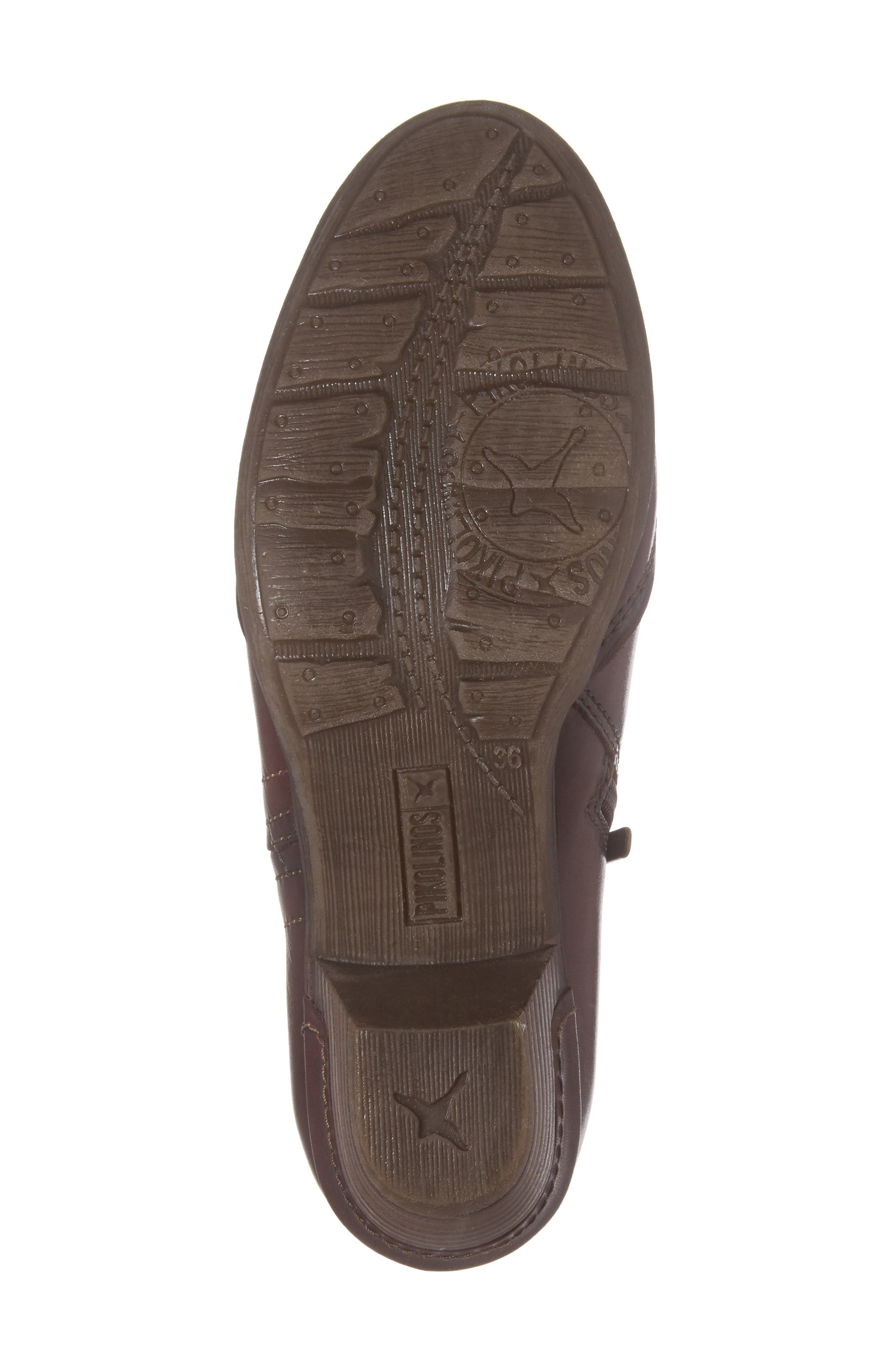 Rotterdam Bootie,                             Alternate thumbnail 6, color,                             Garnet Cuero Leather