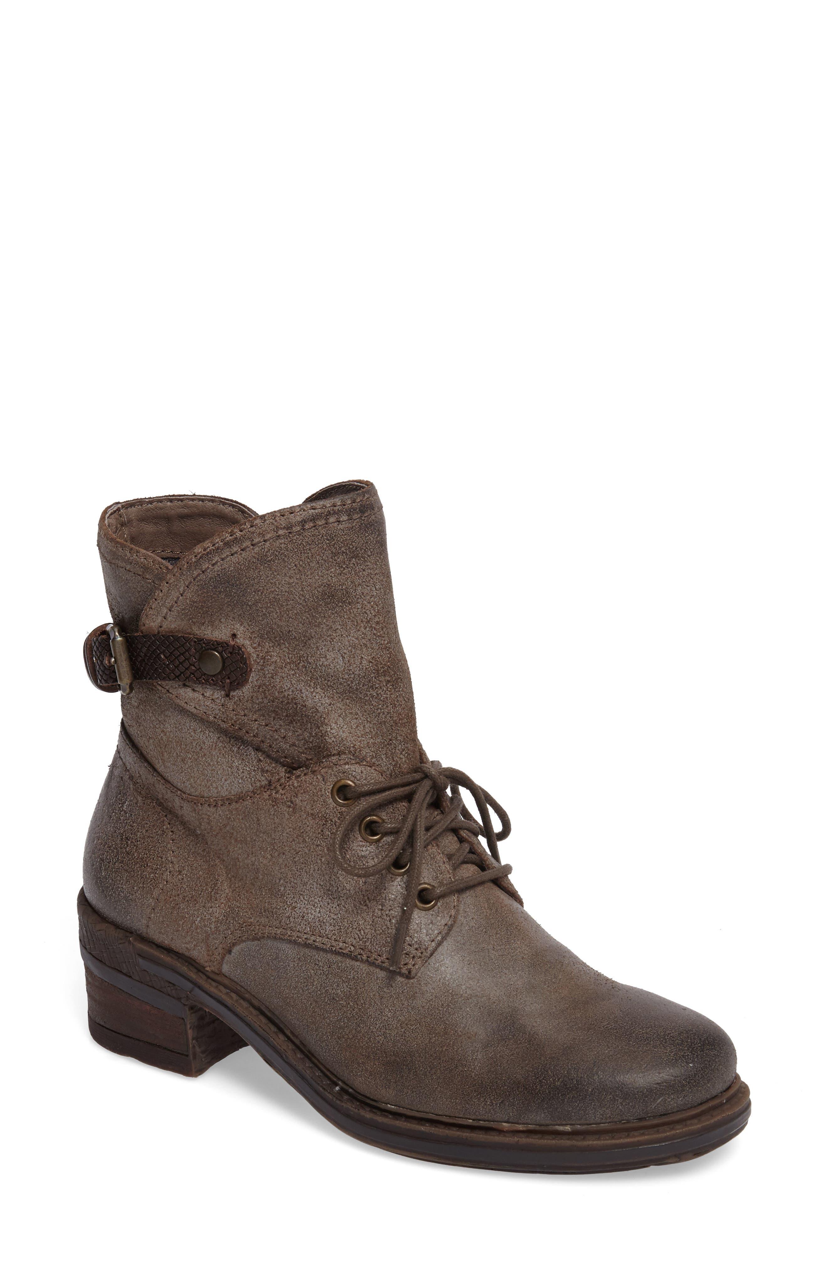 Gallivant Combat Bootie,                         Main,                         color, Mint Leather