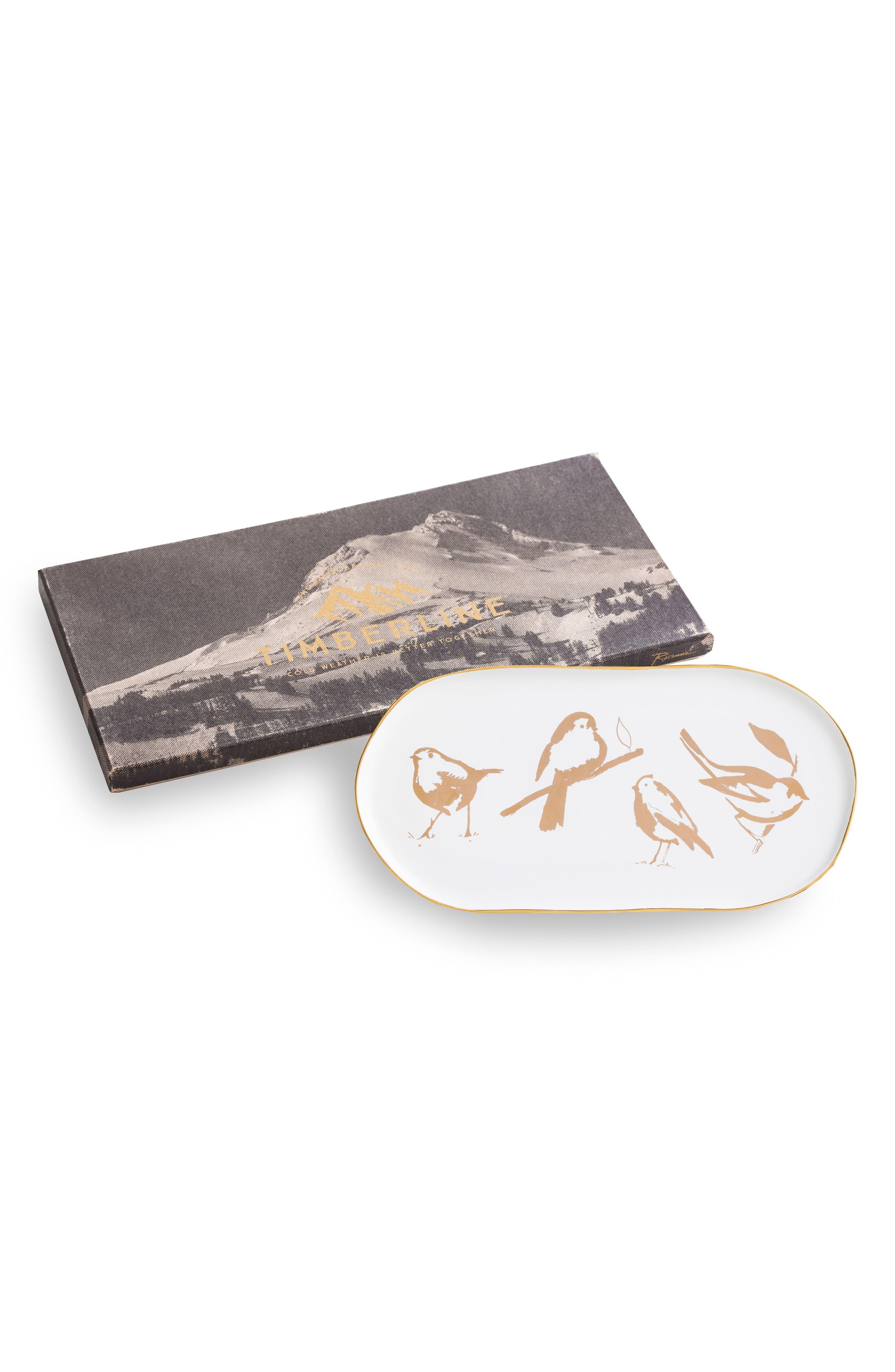 Rosanna 12-Inch Bird Platter