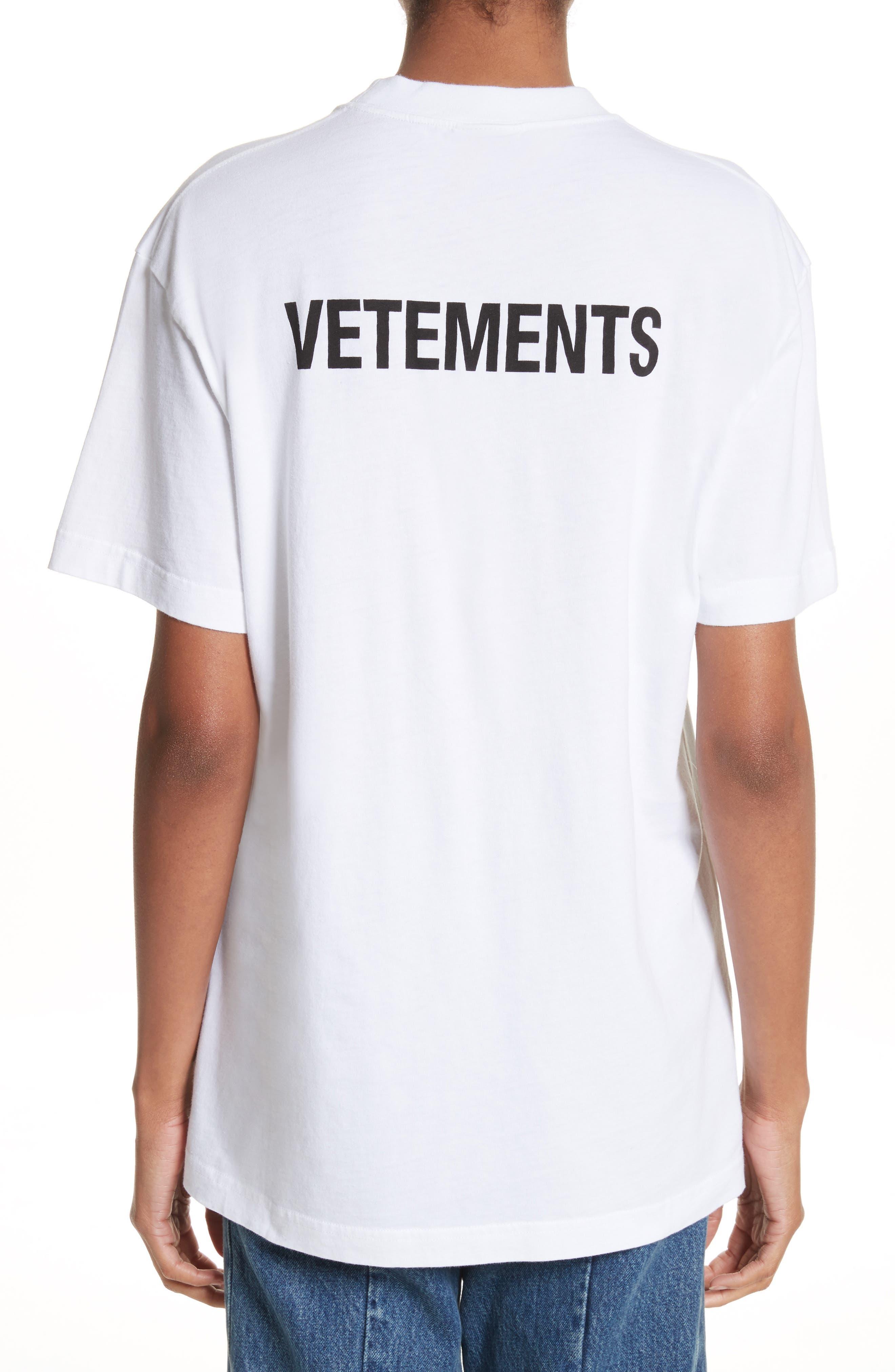 VETEMENTS Staff Basic Logo Tee