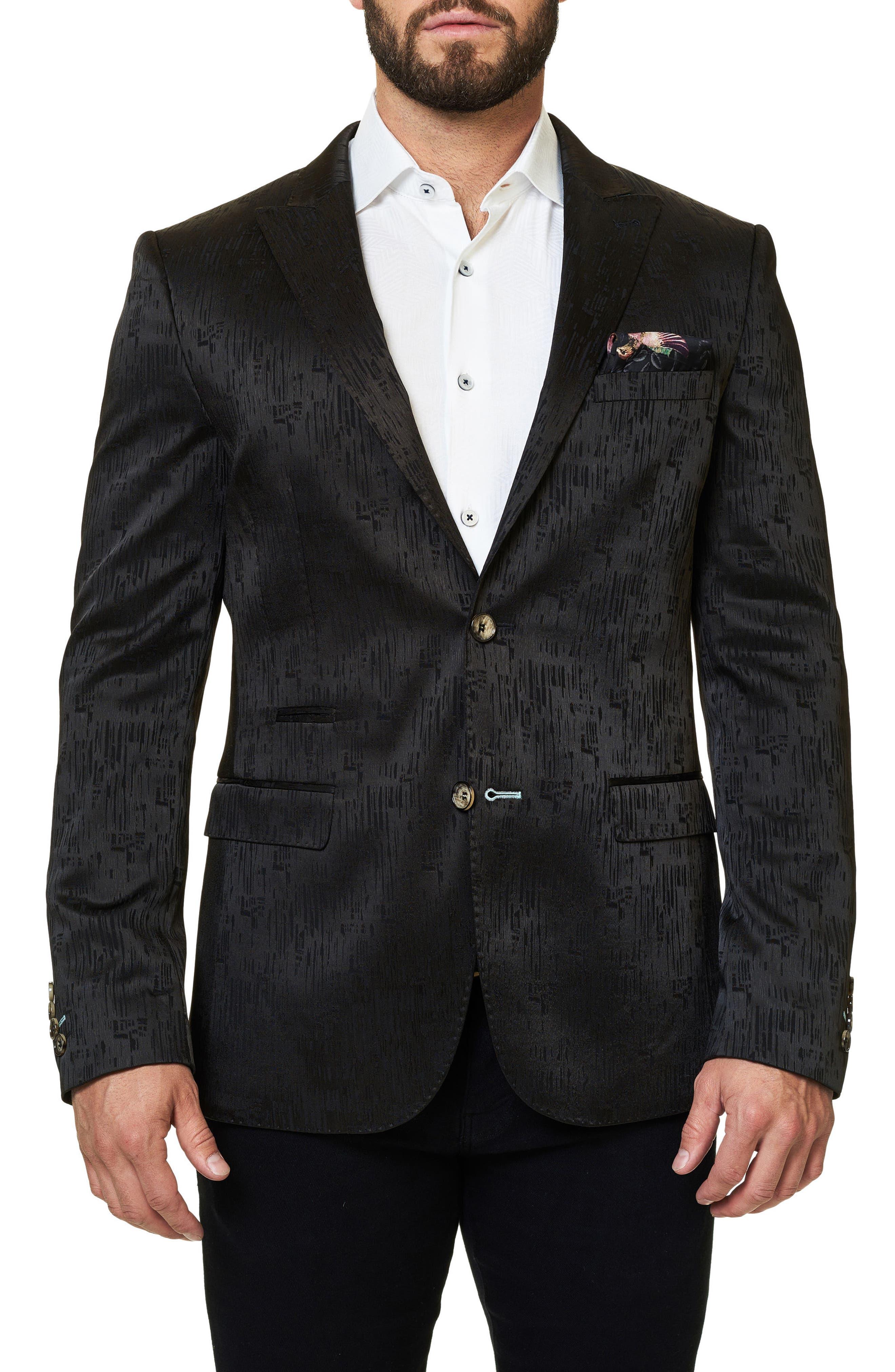 Maceoo Jacquard Sport Coat