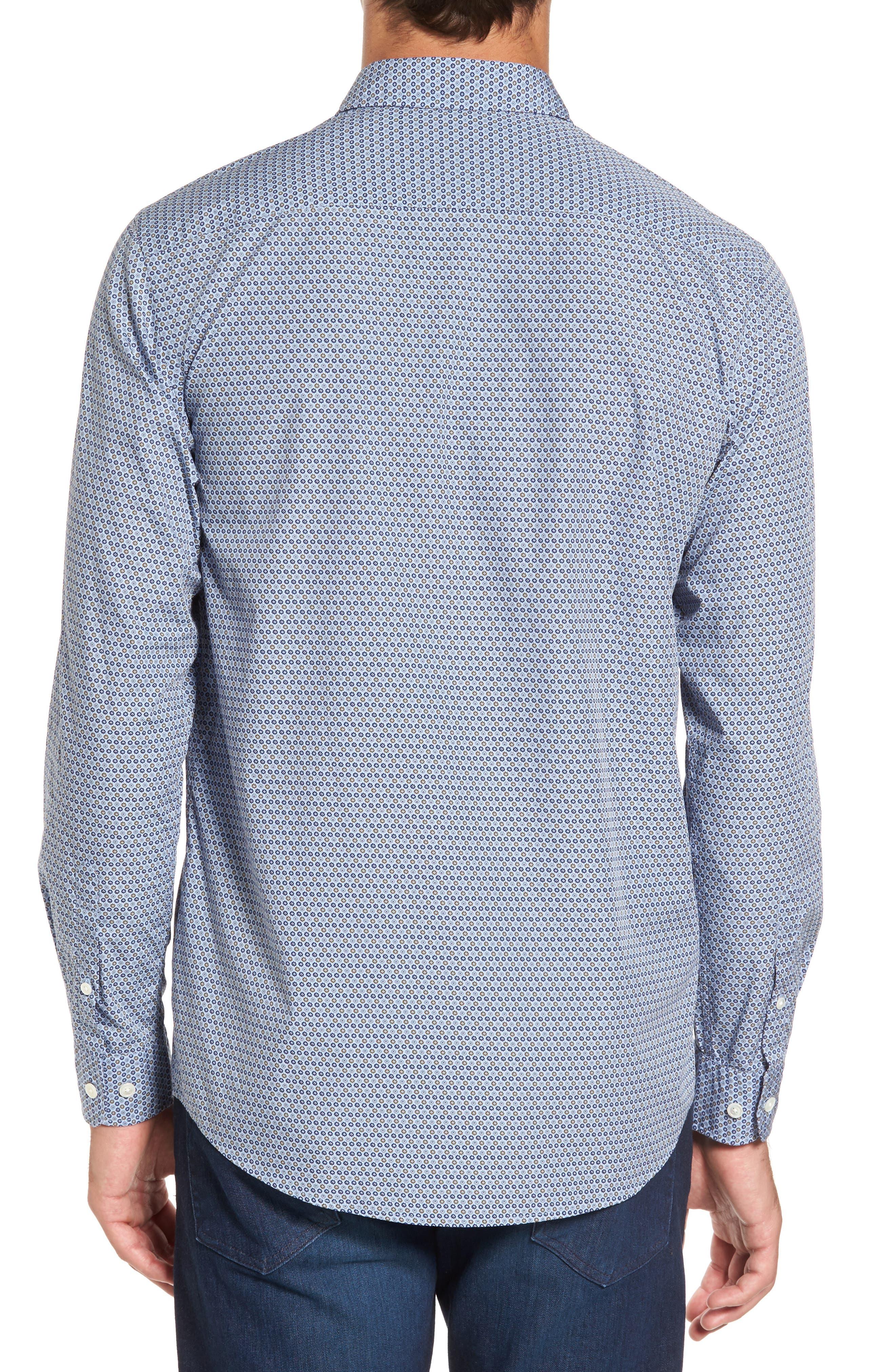 Alternate Image 2  - Rodd & Gunn Horseshoe Bay Sports Fit Print Sport Shirt