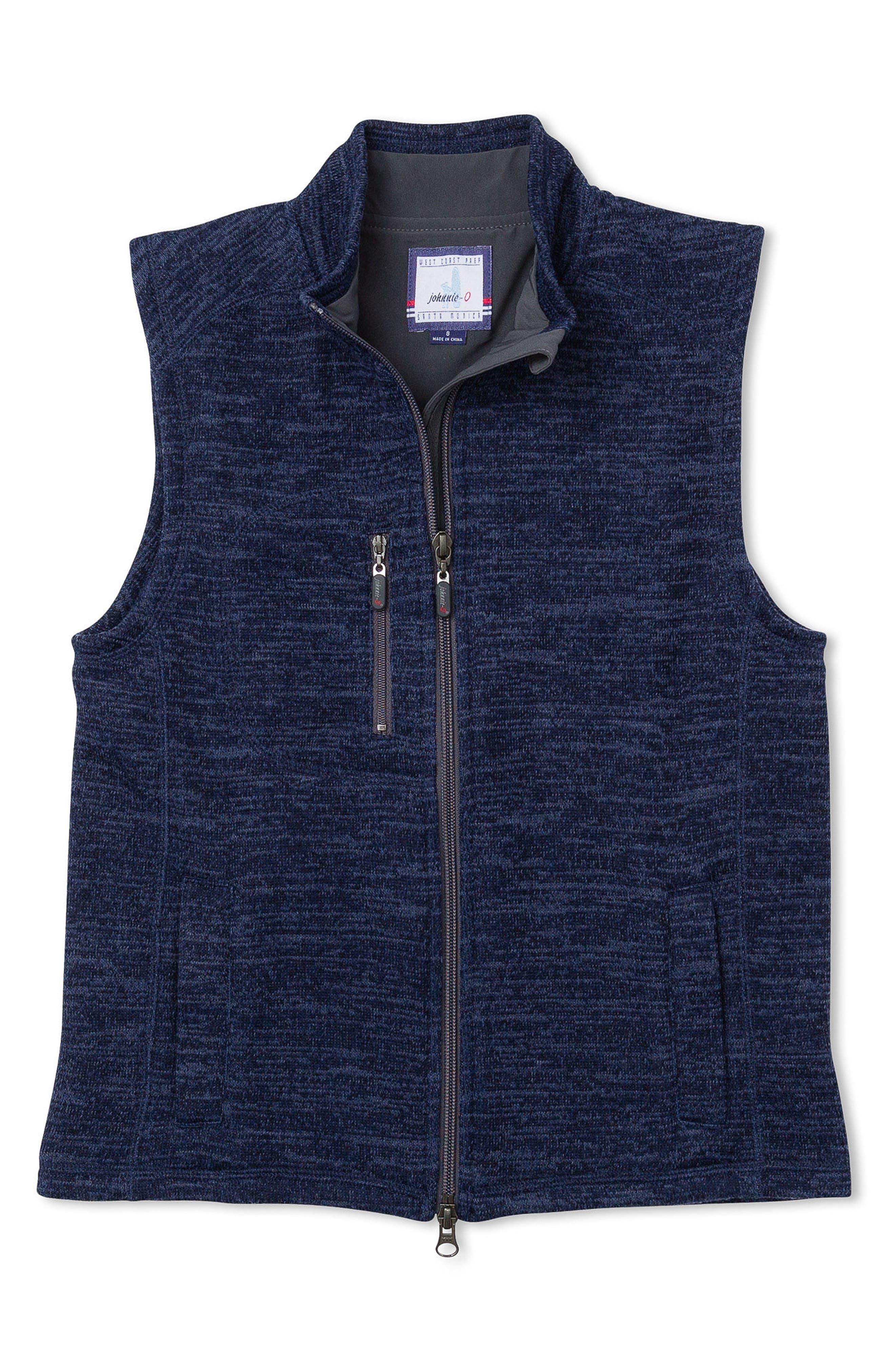 Main Image - johnnie-O Tahoe Zip Vest (Little Boys & Big Boys)