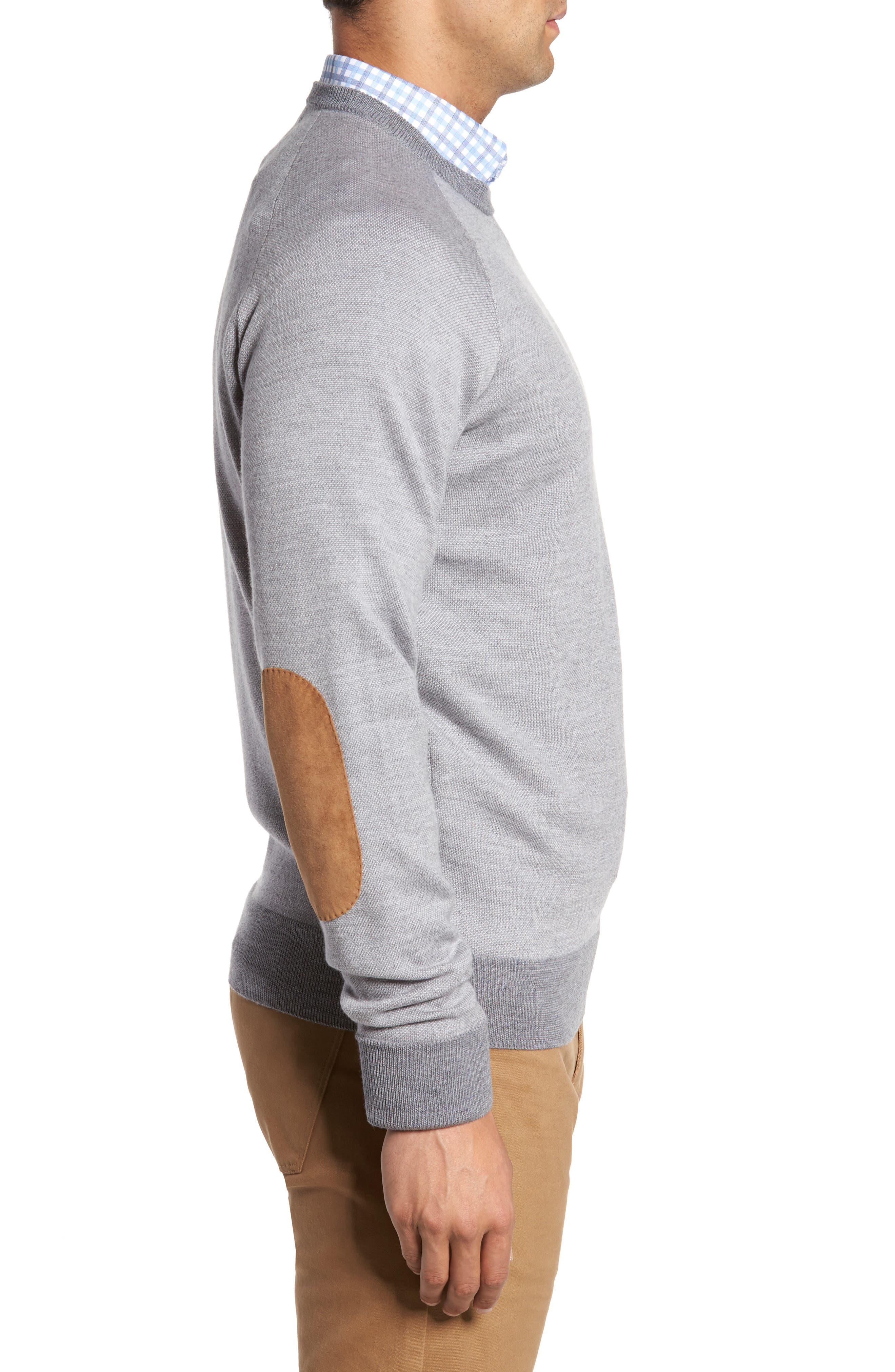 Soltice Merino Sweater,                             Alternate thumbnail 3, color,                             Stingray