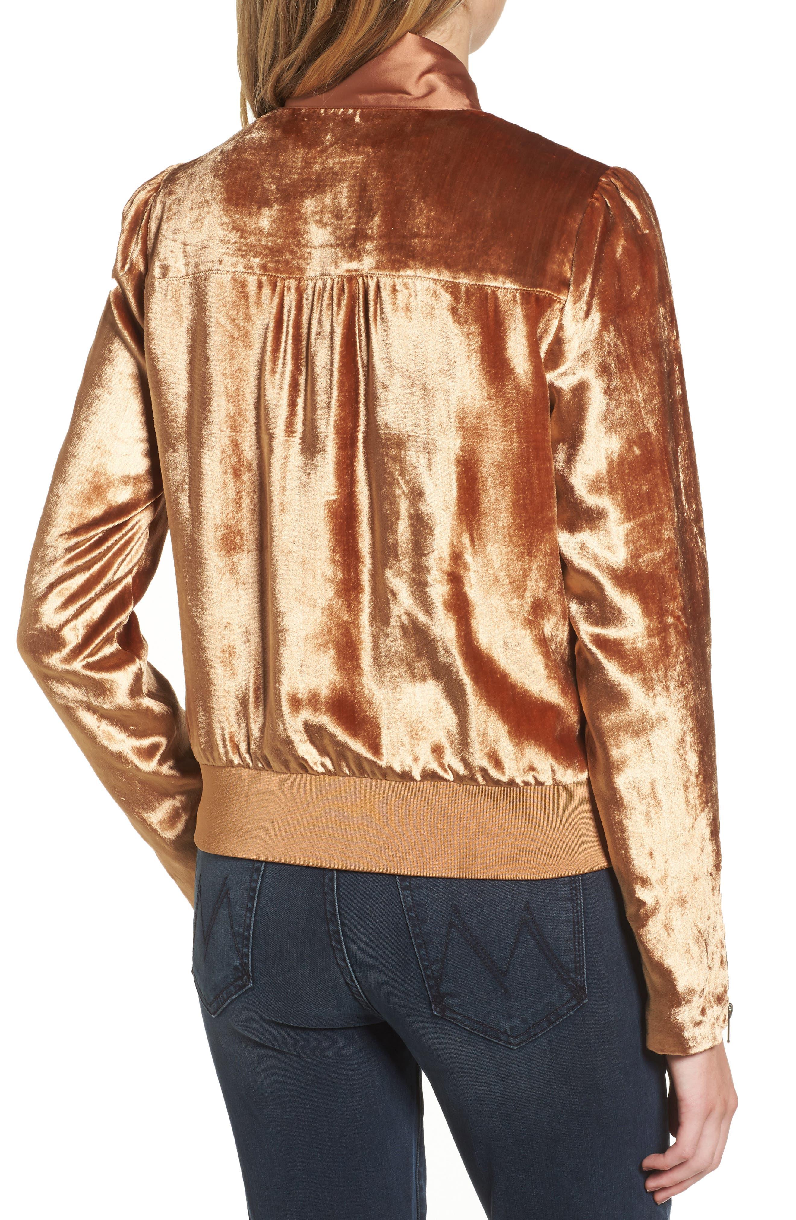Alternate Image 2  - Chelsea28 Velvet Jacket