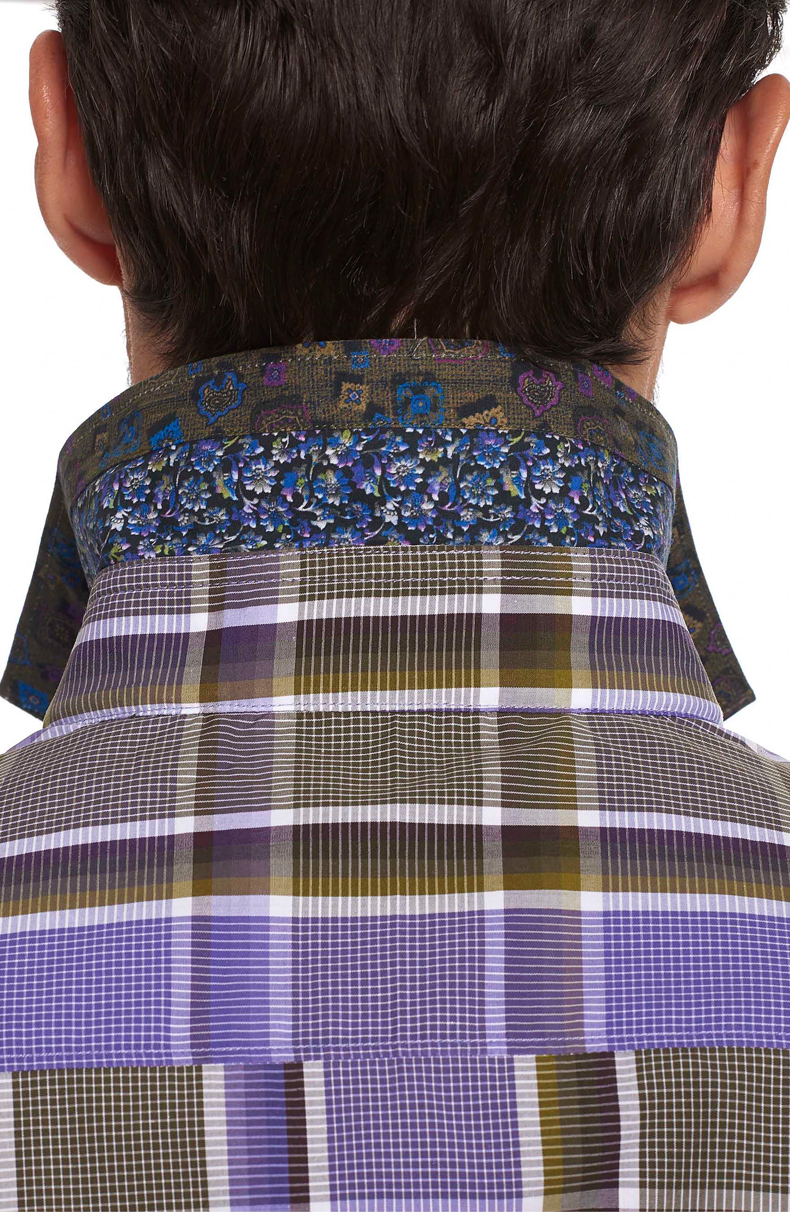 Alternate Image 5  - Robert Graham Stone Bridge Classic Fit Sport Shirt
