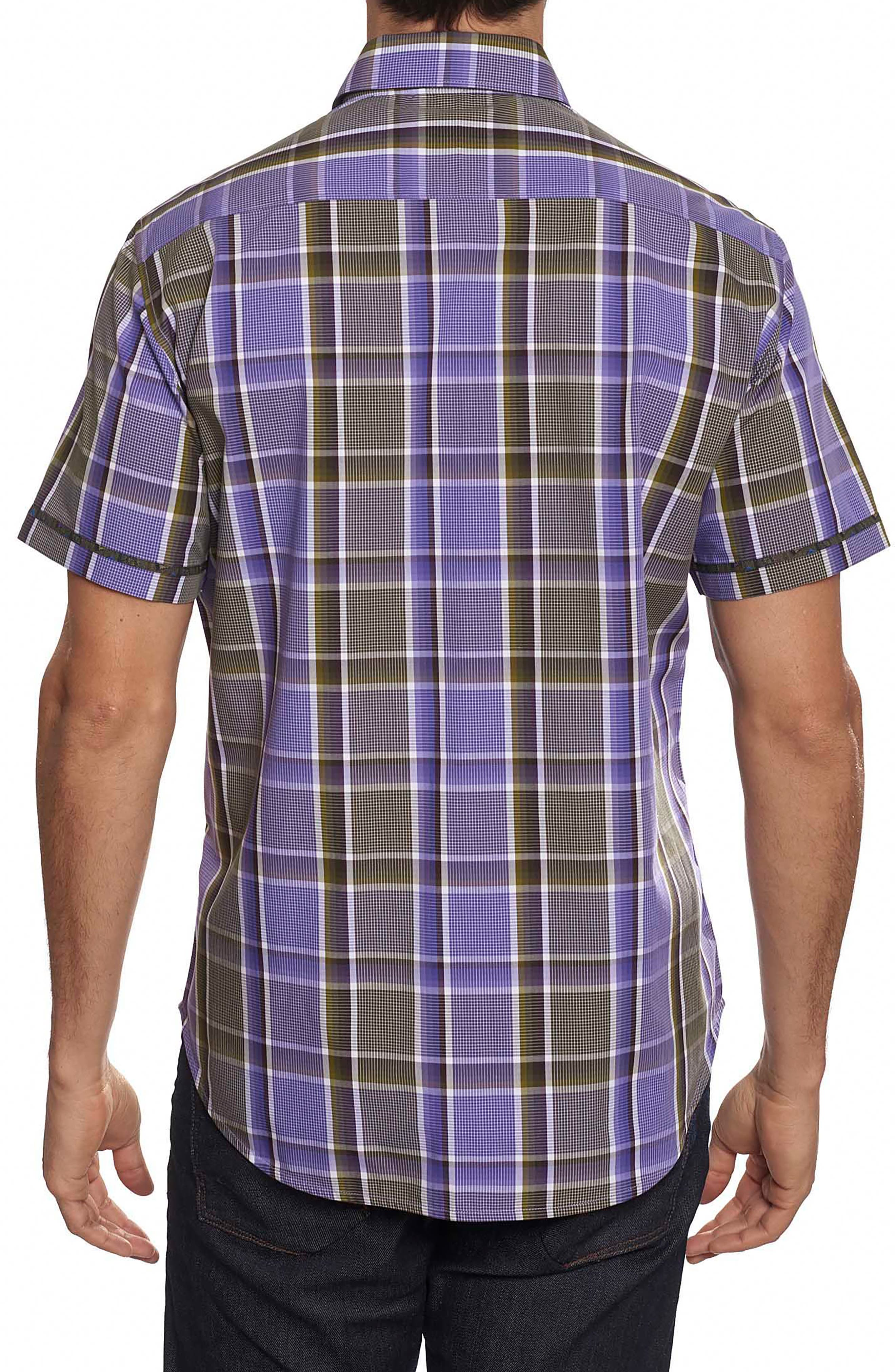 Stone Bridge Classic Fit Sport Shirt,                             Alternate thumbnail 2, color,                             Purple