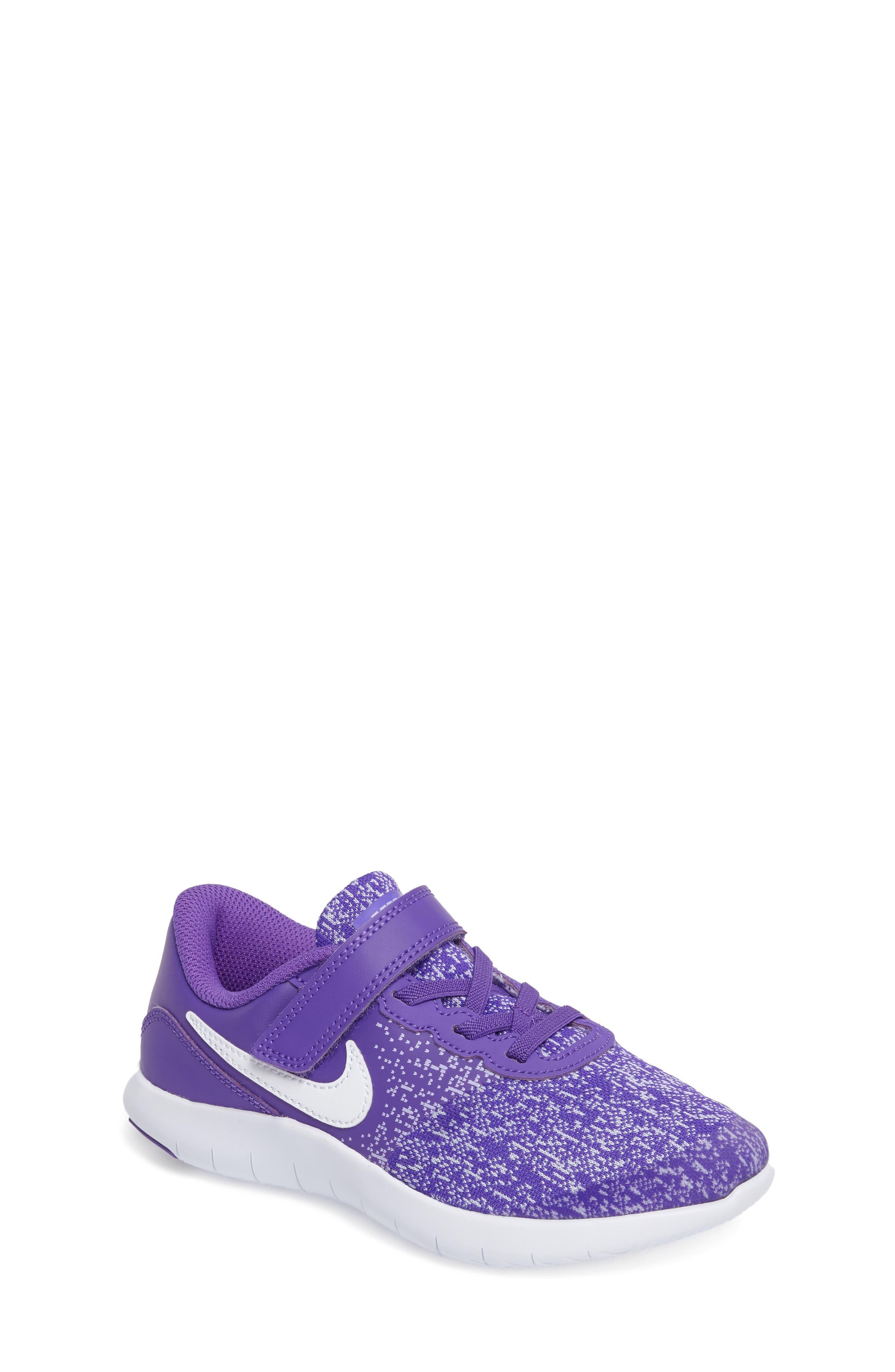 Nike Flex Contact Running Shoe (Toddler & Little Kid)