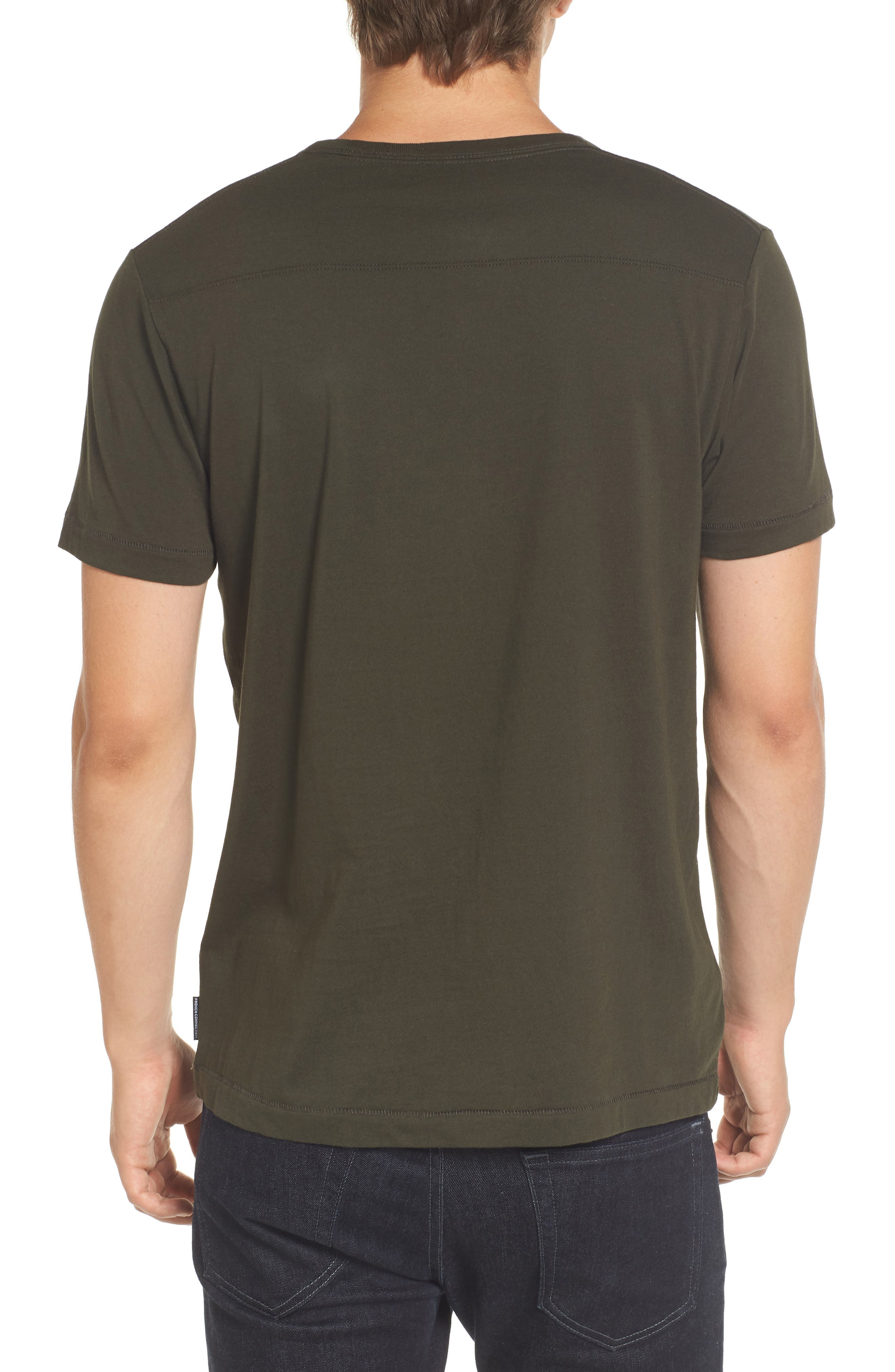 Alternate Image 2  - French Connection Slim Fit Crewneck T-Shirt