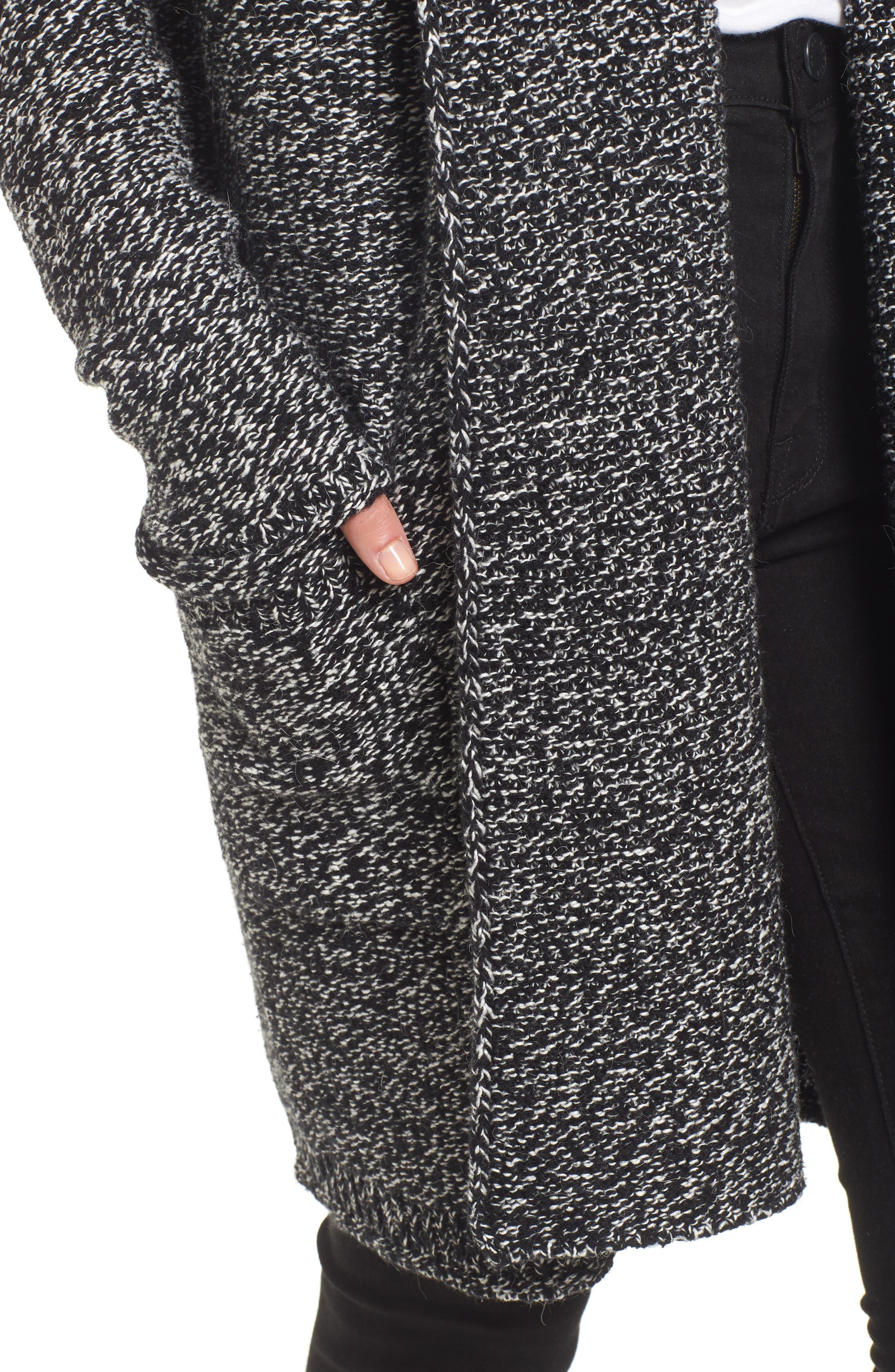 Alternate Image 4  - Caslon® Shawl Collar Cardigan (Regular & Petite)