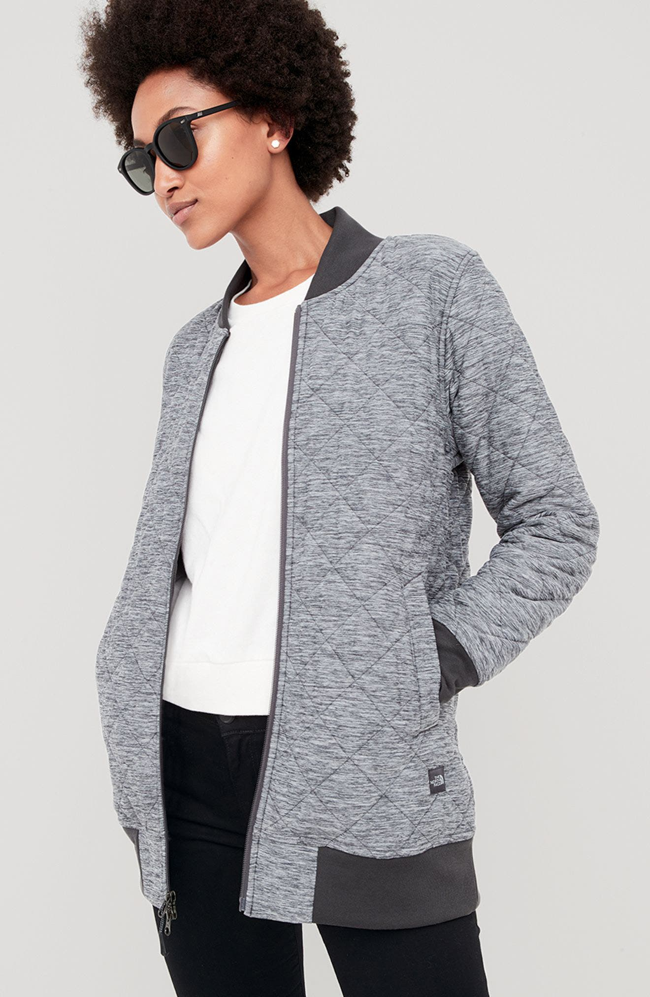 Alternate Image 2  - The North Face Mod Insulated Knit Jacket