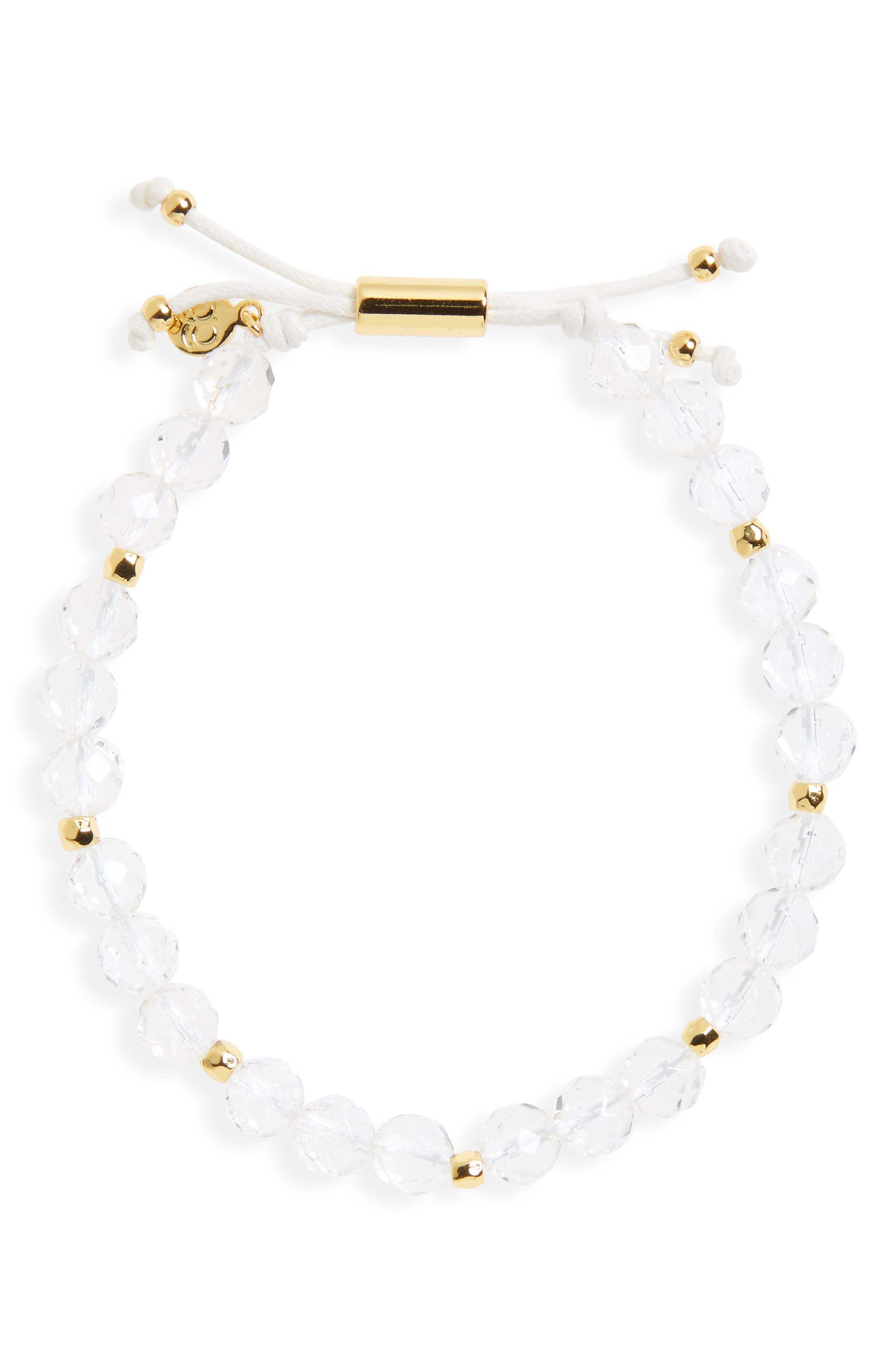 Alternate Image 1 Selected - gorjana Power Semiprecious Stone Beaded Bracelet