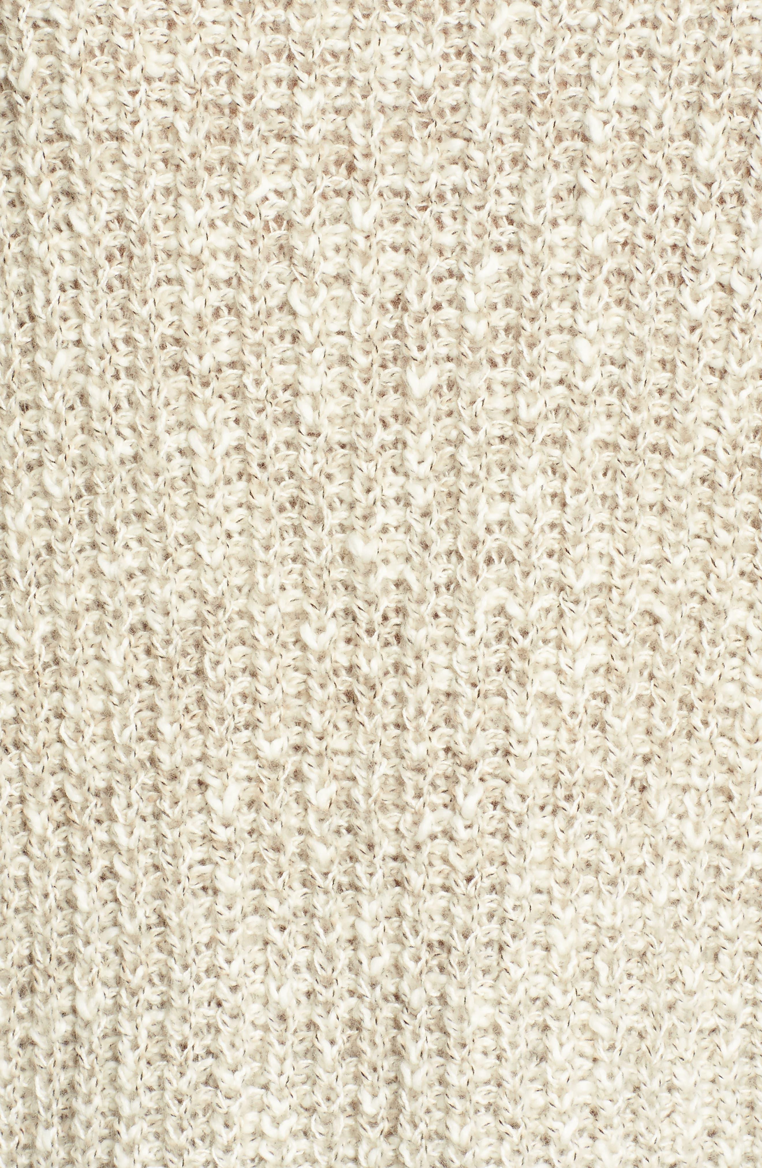 Alternate Image 5  - Lucky Brand Open Stitch Sweater