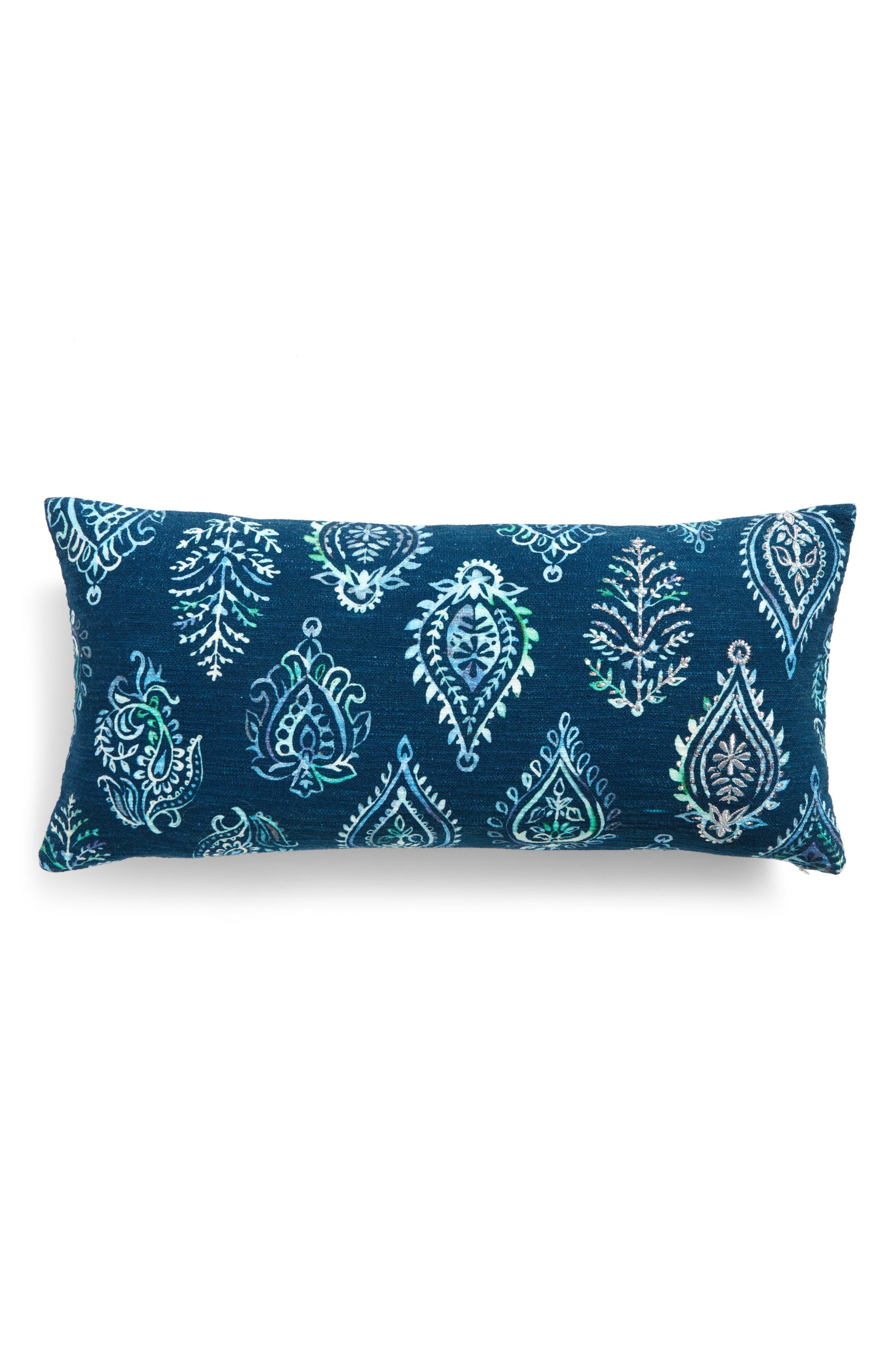 Alternate Image 2  - Nordstrom at Home Block Print Pillow
