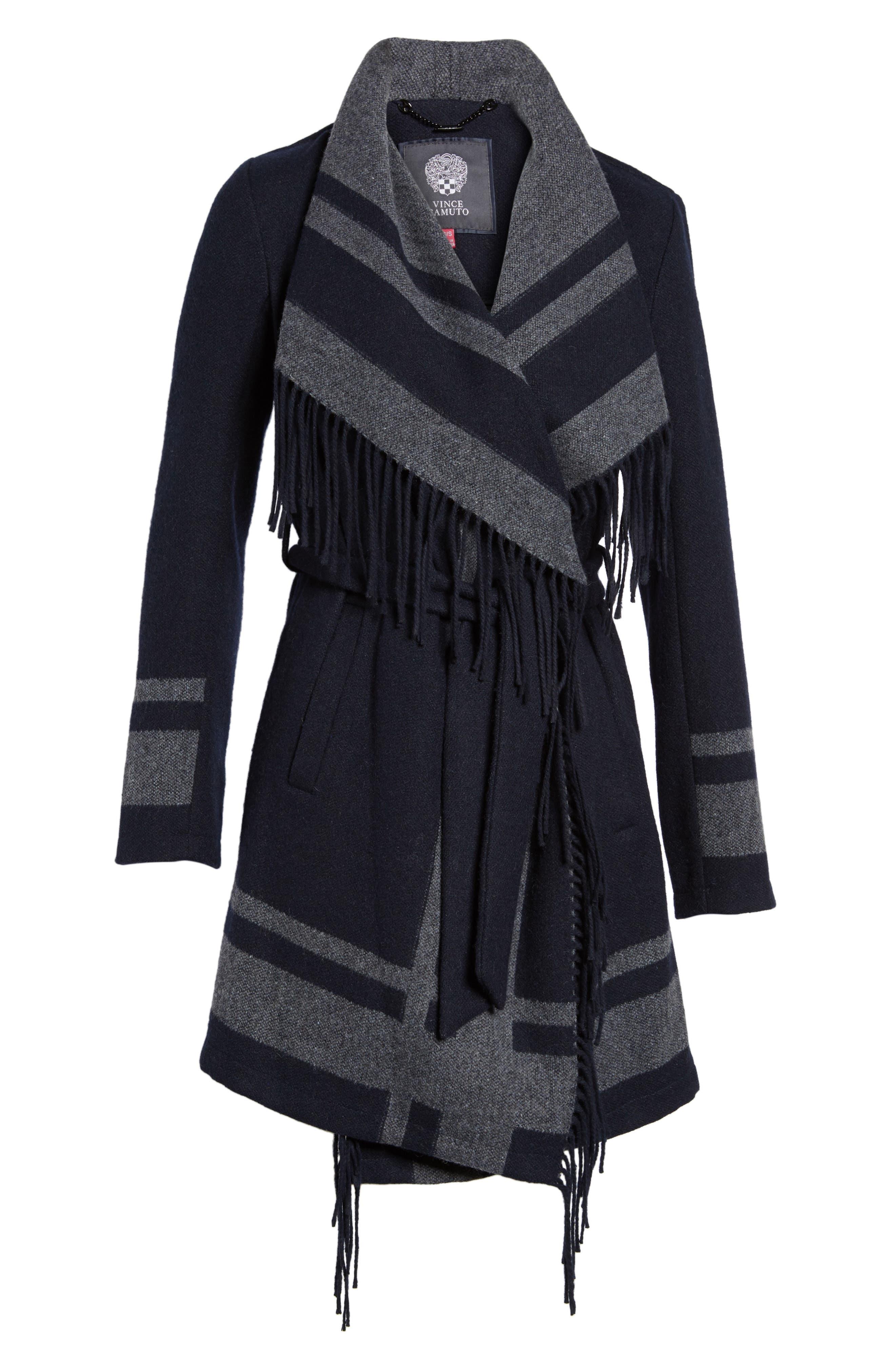 Alternate Image 6  - Vince Camuto Wrap Coat