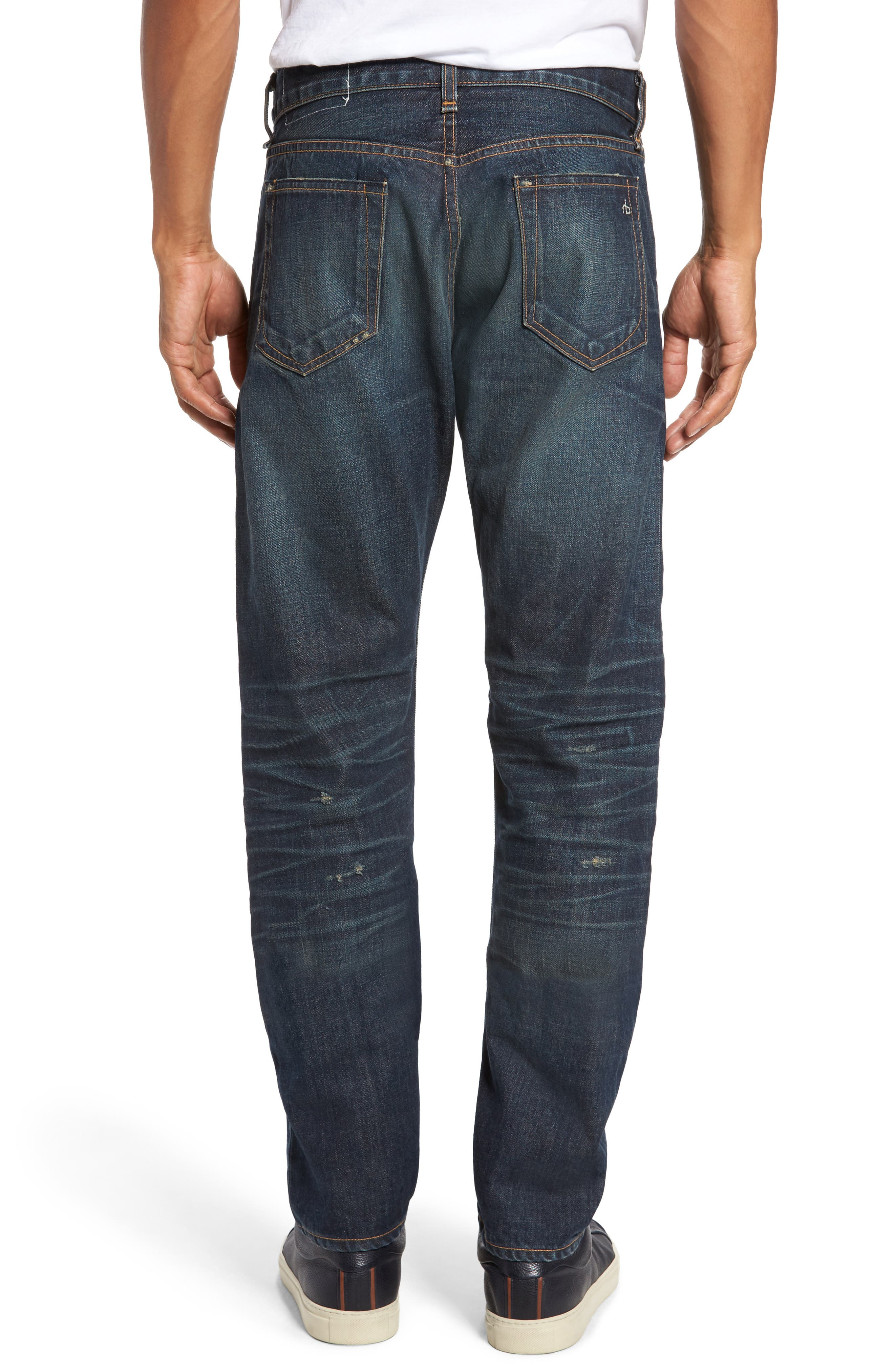 Alternate Image 2  - rag & bone Fit 2 Slim Fit Jeans (Zeitgeist)