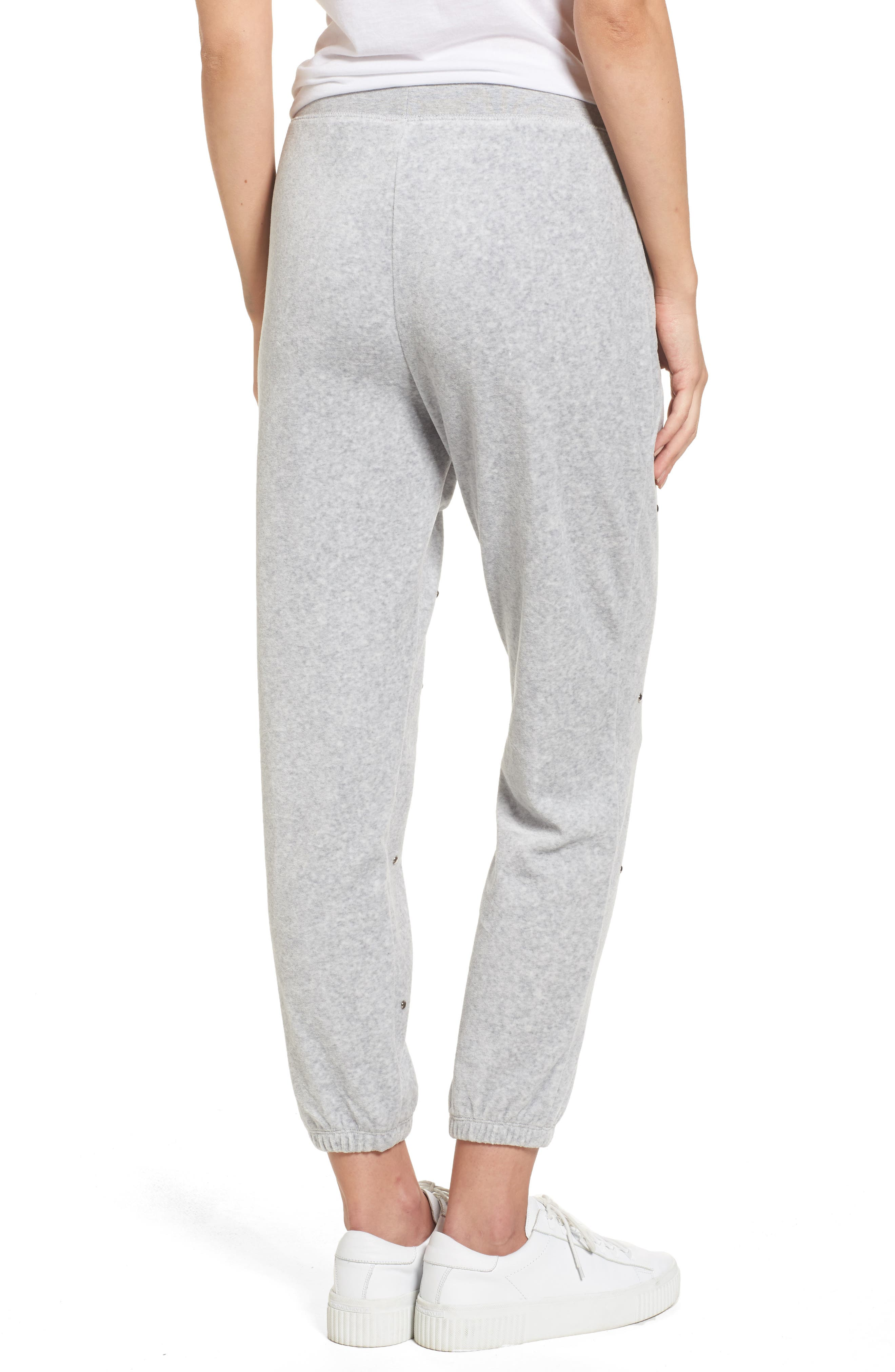 Alternate Image 2  - Juicy Couture Velour Studded Track Pants