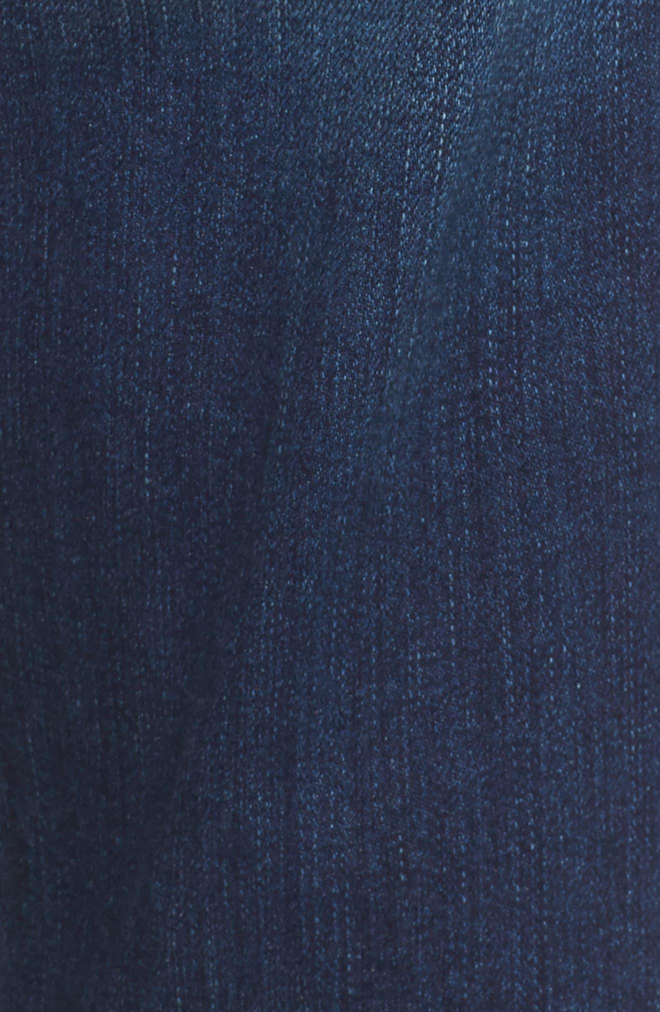 Alternate Image 5  - 7 For All Mankind® Josefina Destroyed Boyfriend Jeans (Liberty)