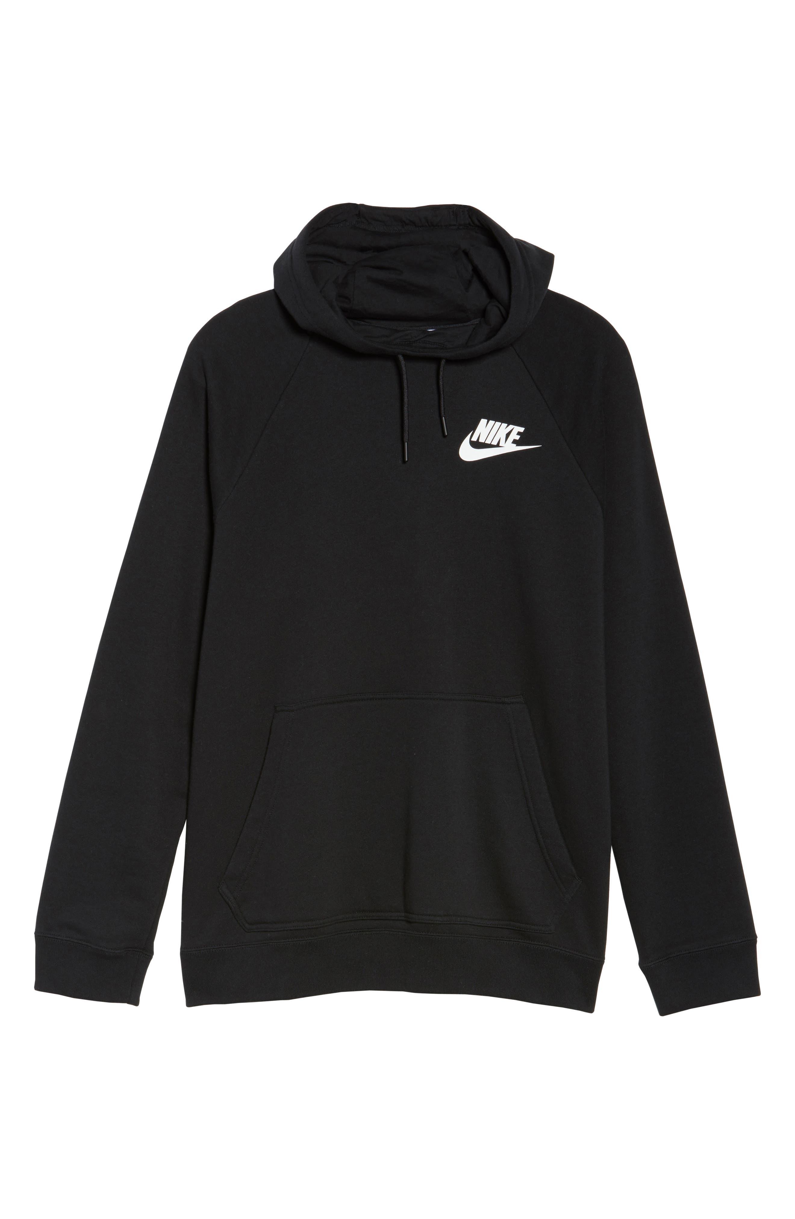 Alternate Image 6  - Nike Rally Hoodie (Plus Size)