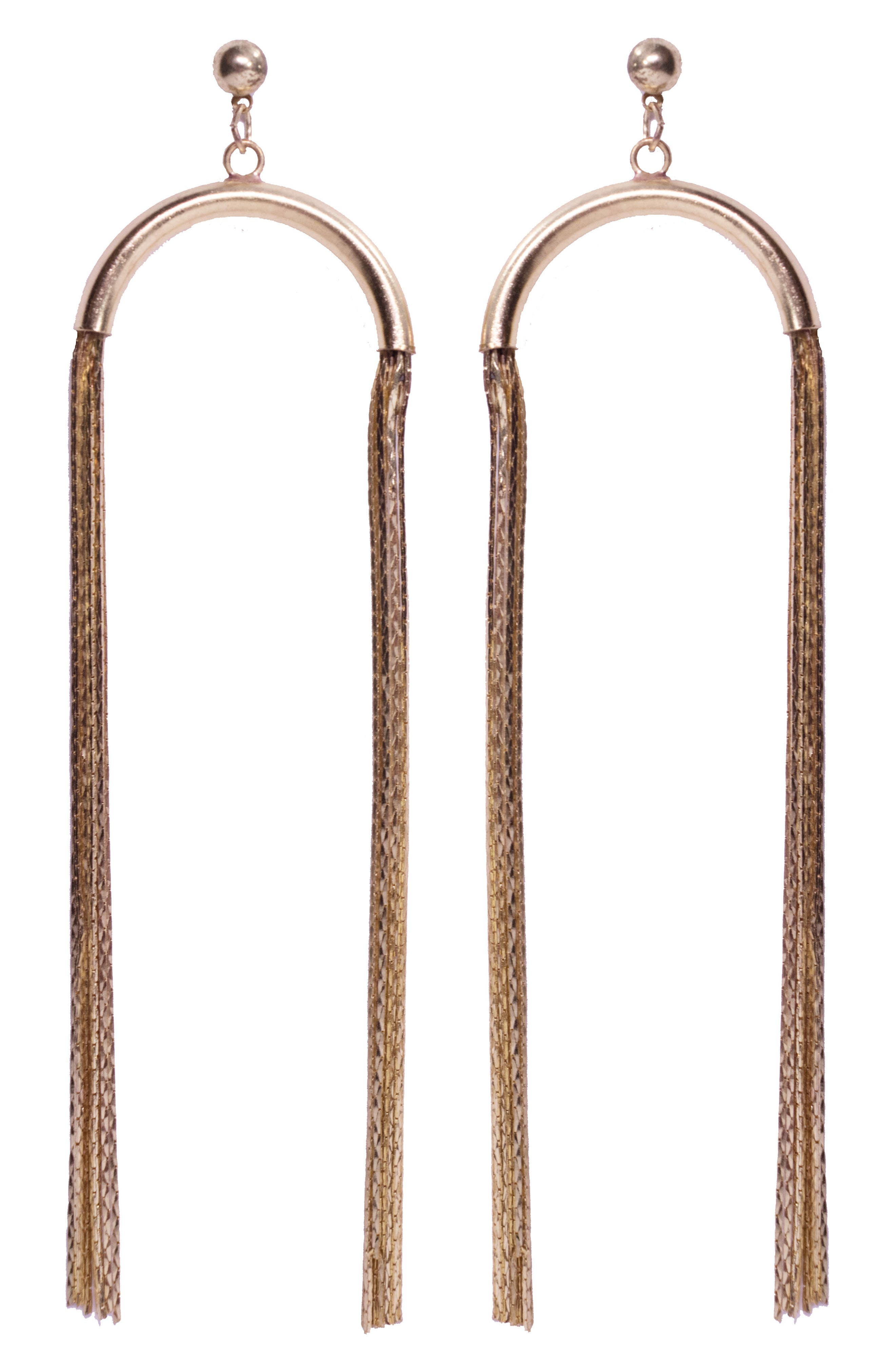Noa Drop Earrings,                             Main thumbnail 1, color,                             Gold