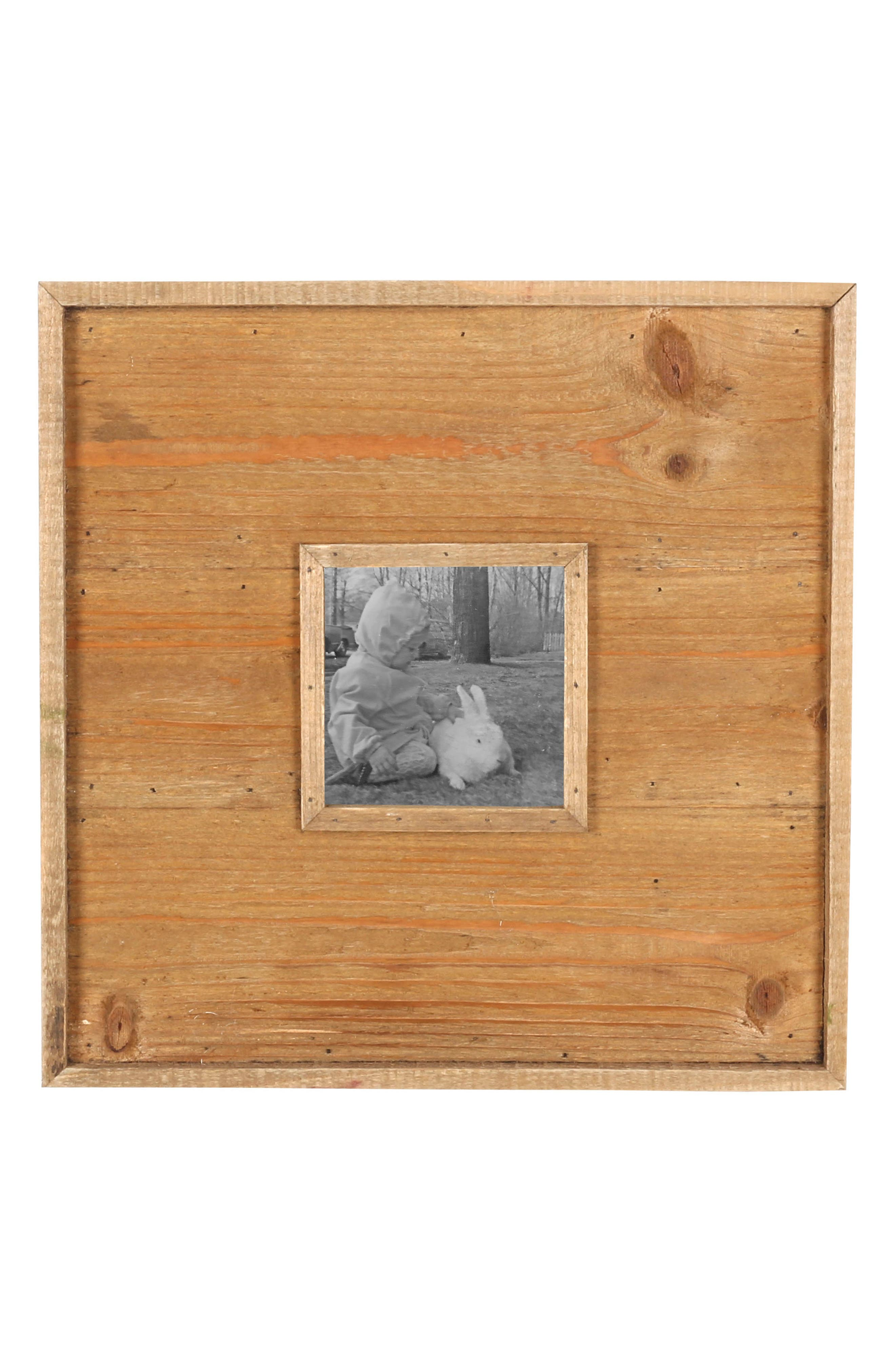 Wood Panel Picture Frame,                         Main,                         color, Wood/ Glass