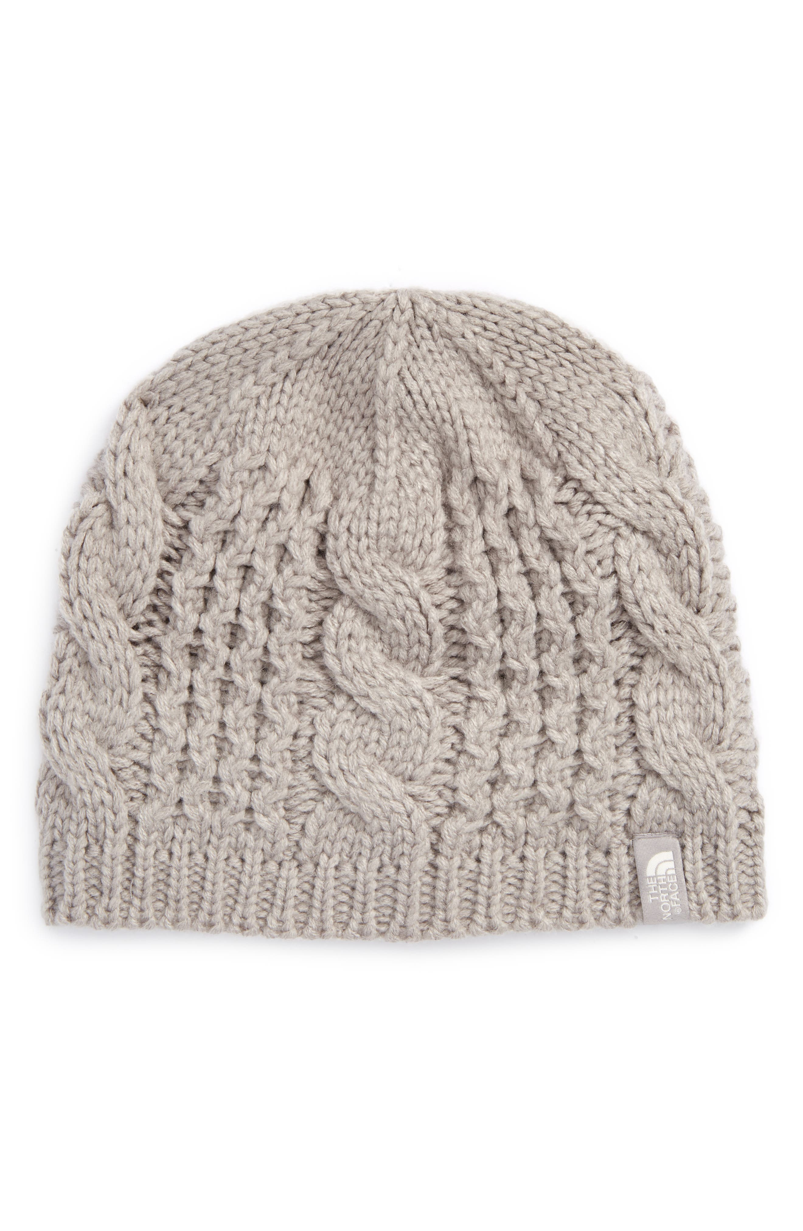 The North Face Minna Cable Knit Beanie (Girls)