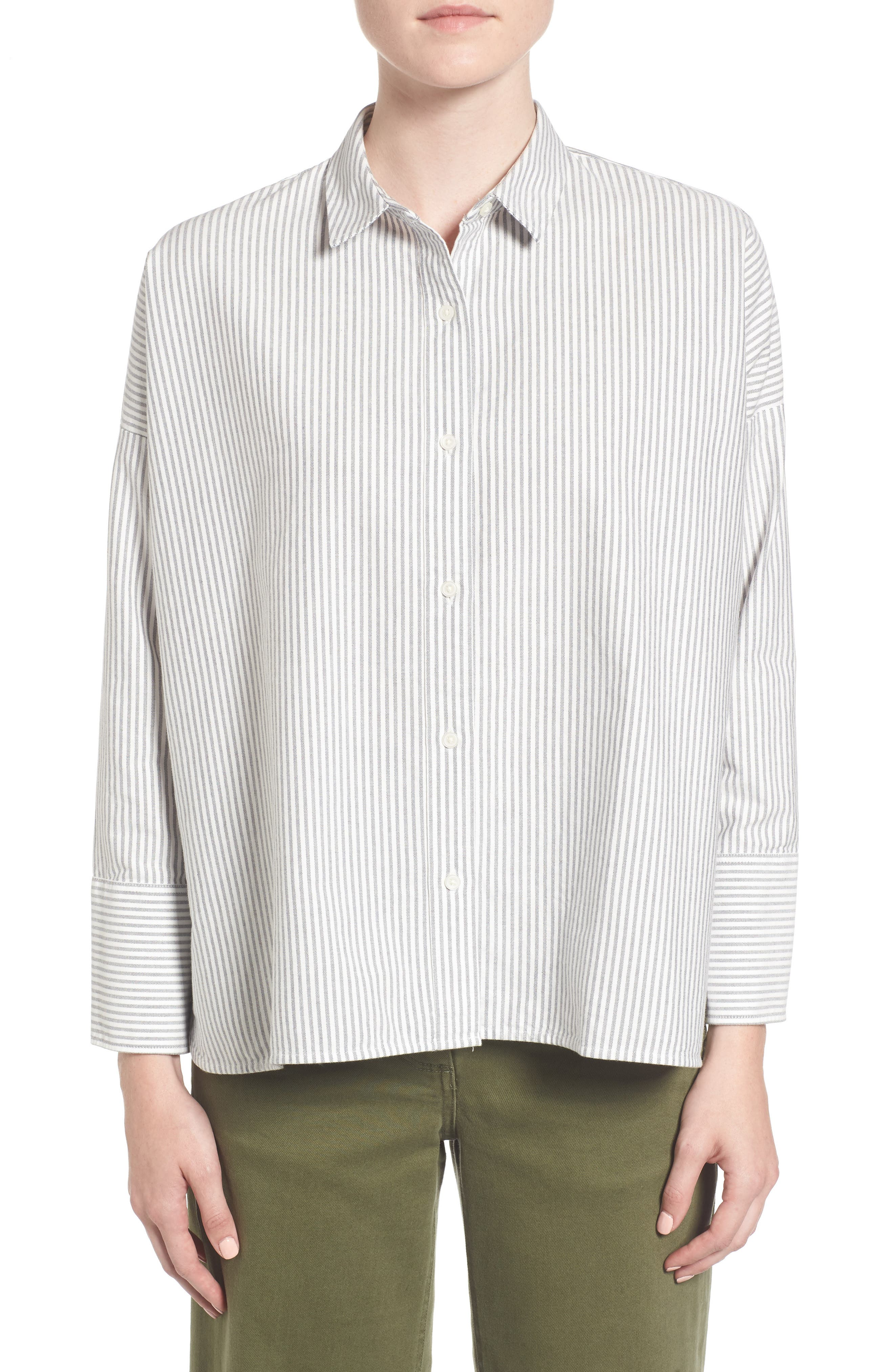 Alternate Image 1 Selected - Everlane The Japanese Oxford Square Shirt
