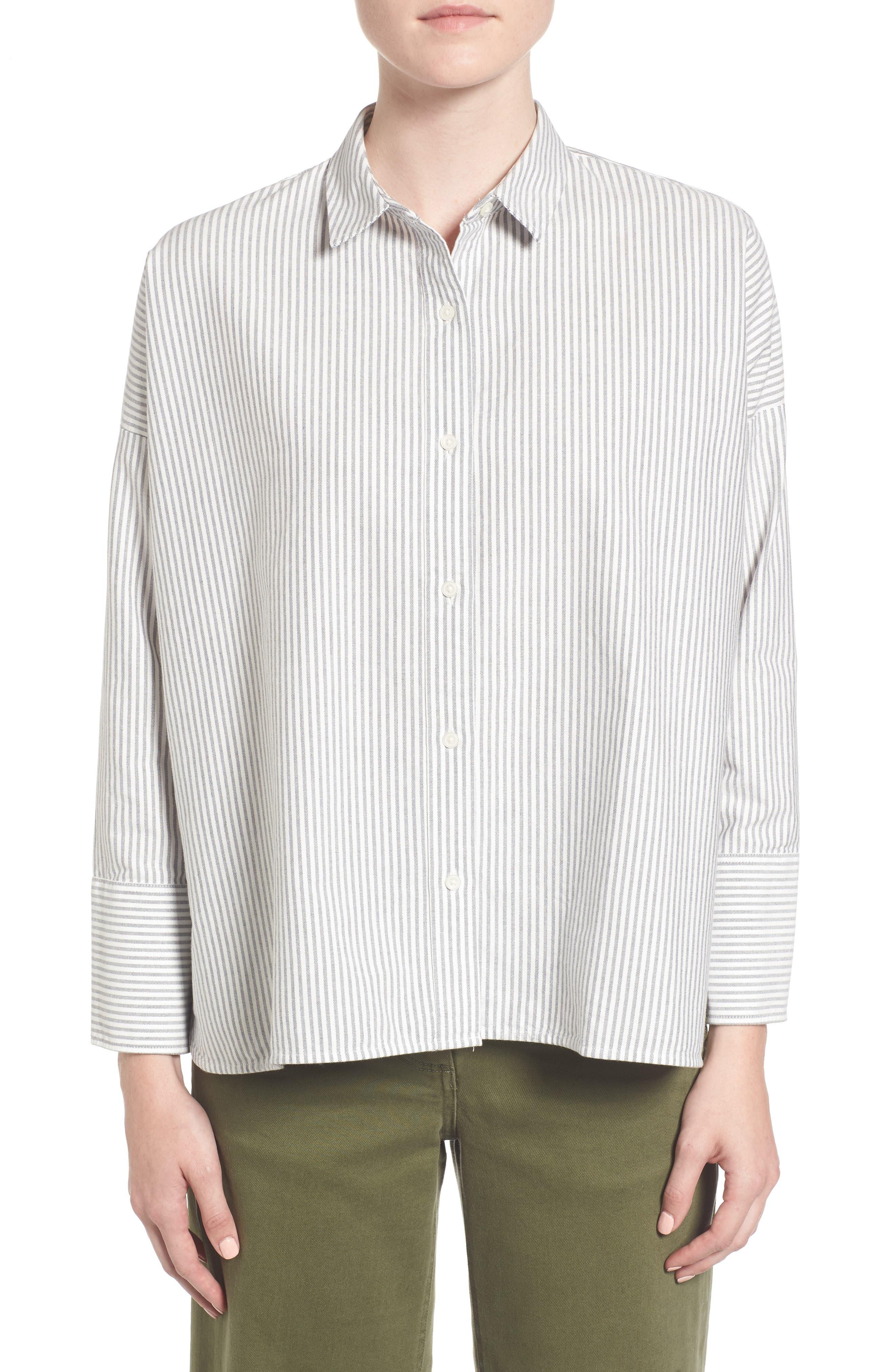 Main Image - Everlane The Japanese Oxford Square Shirt