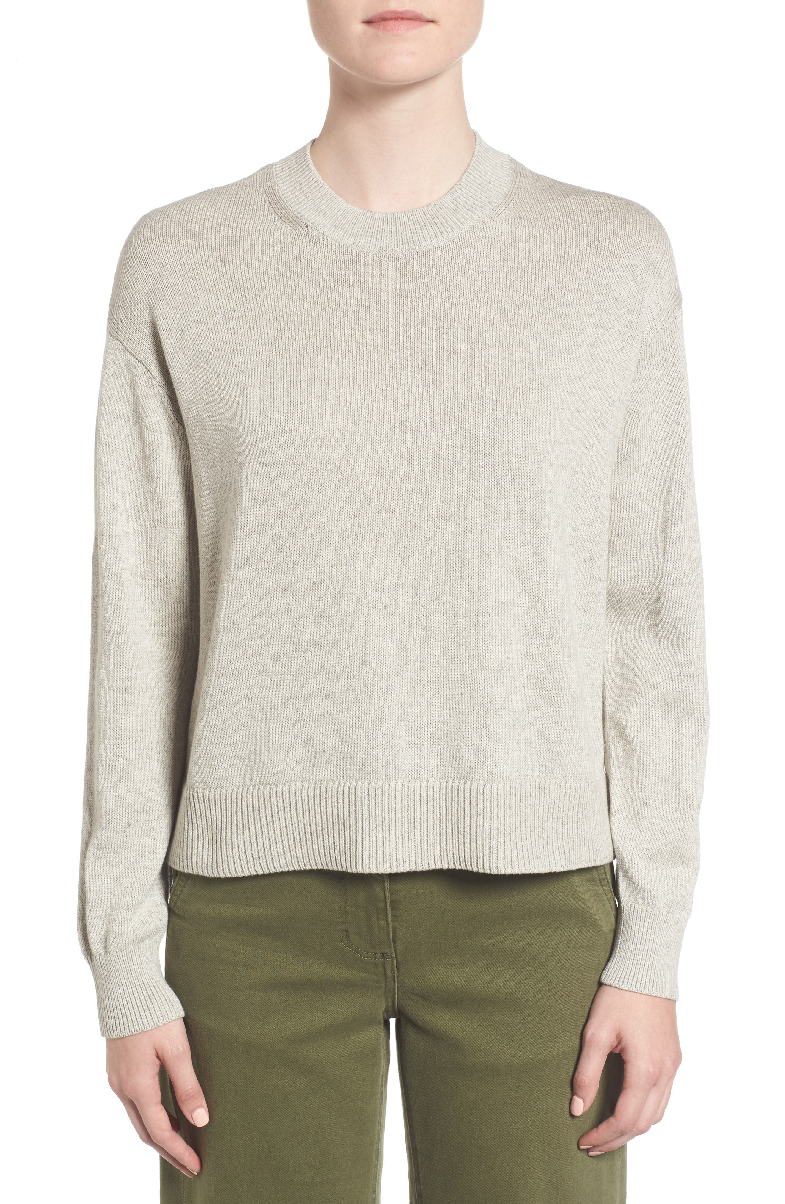 Alternate Image 1 Selected - Everlane The Cotton Long Sleeve Crew Sweater