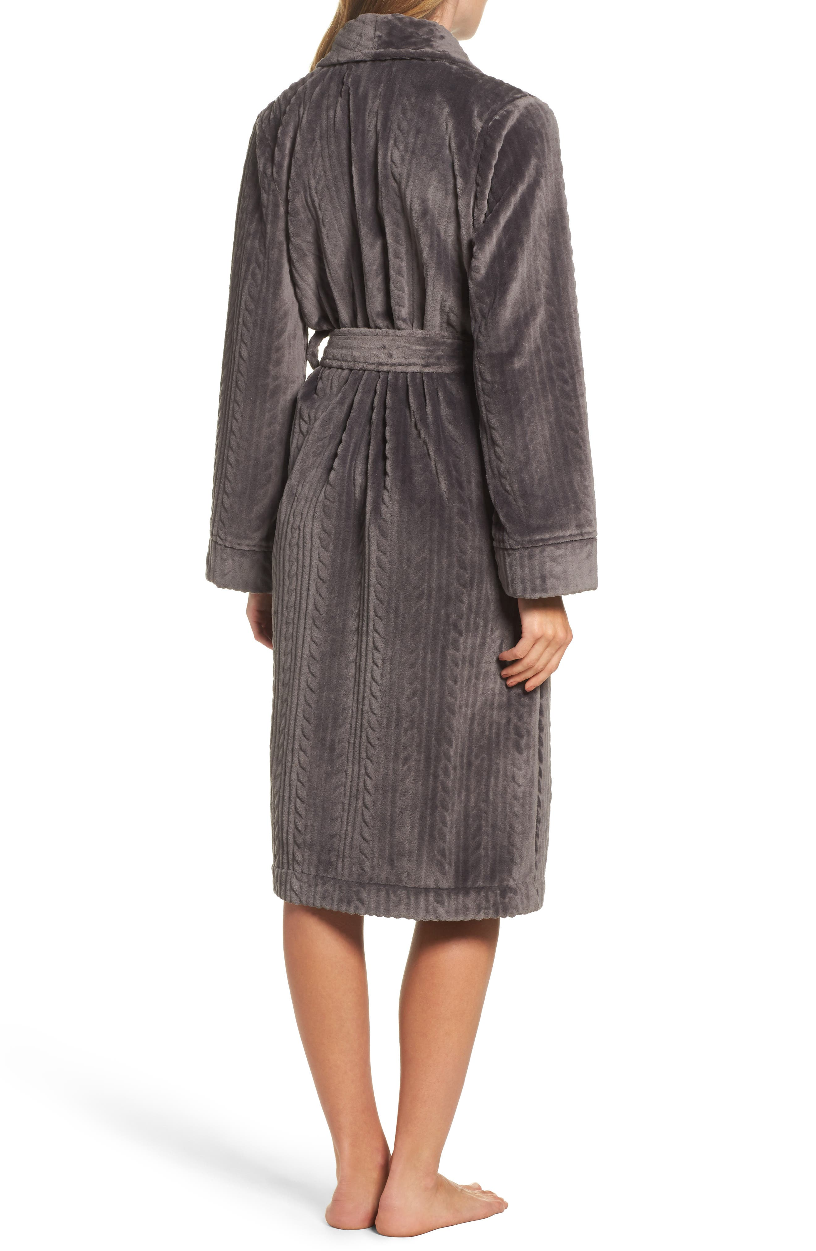 Alternate Image 2  - Nordstrom So Soft Plush Robe