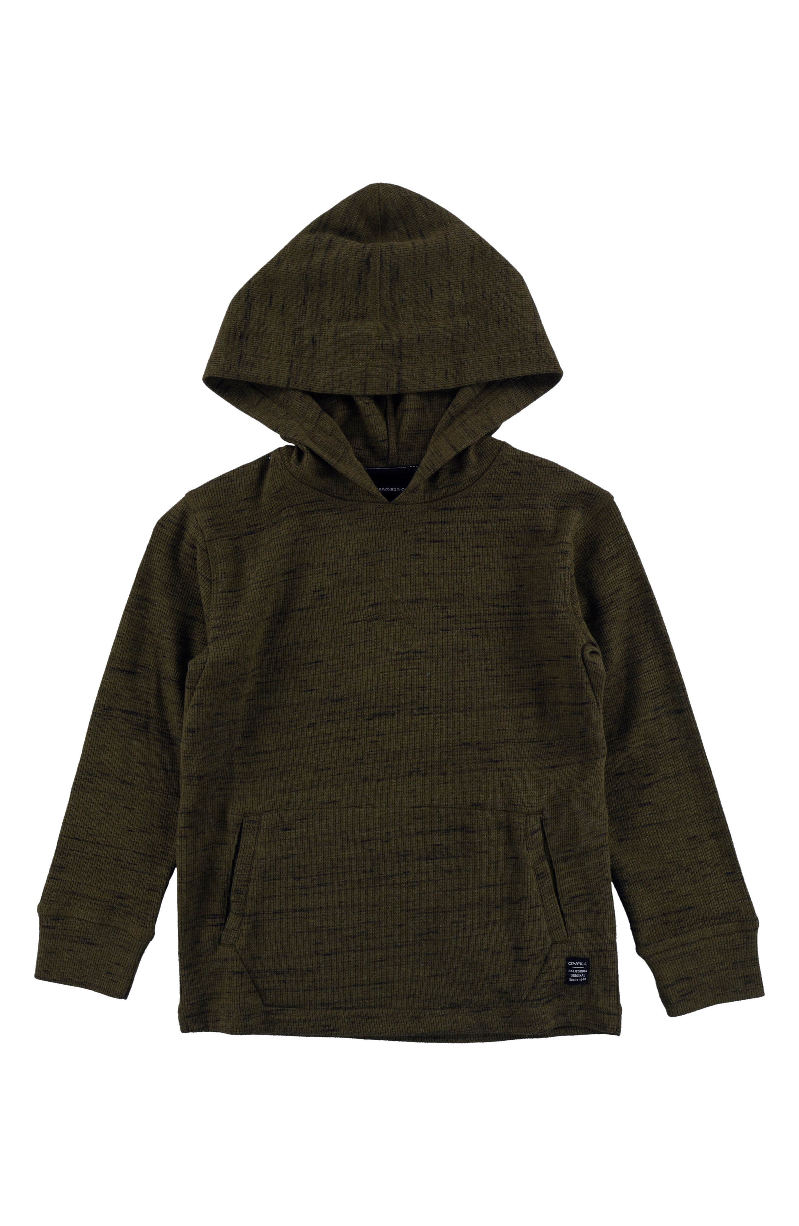 Main Image - O'Neill Boldin Thermal Pullover Hoodie (Toddler Boys, Little Boys & Big Boys)
